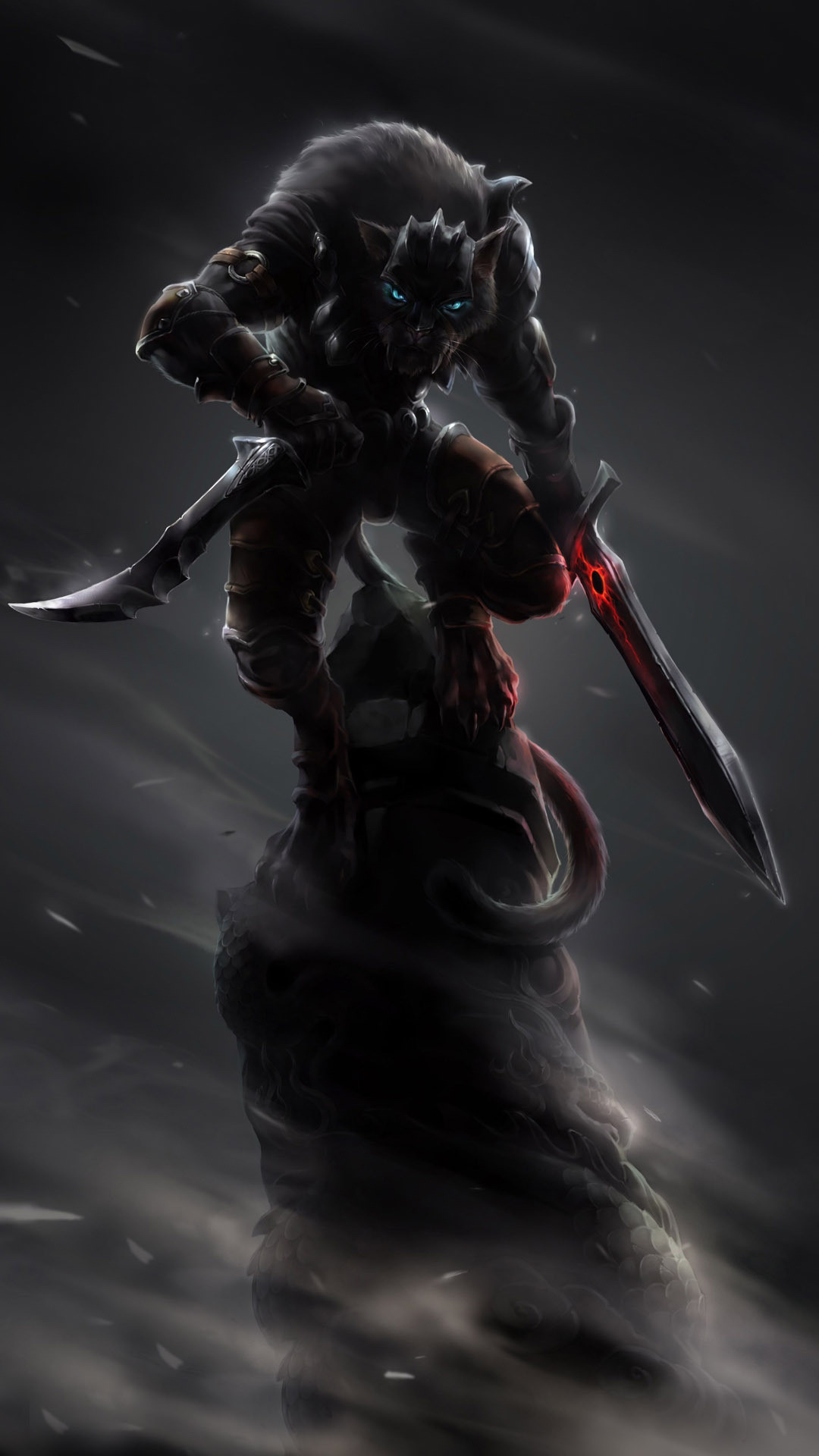 1080x1920 Werewolf warrior Wallpaper