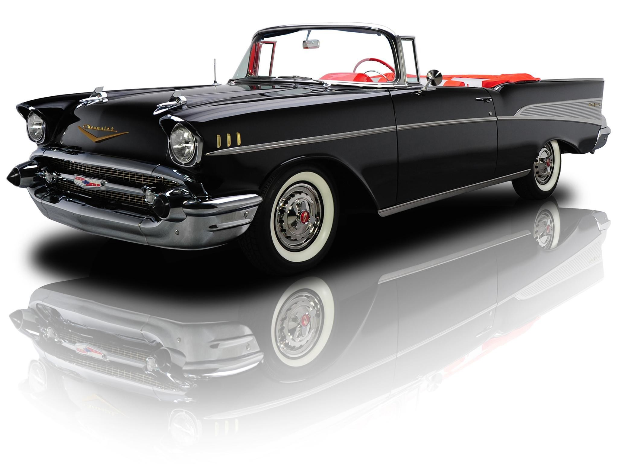 2048x1536 Chevrolet Bel Air Convertible '1957
