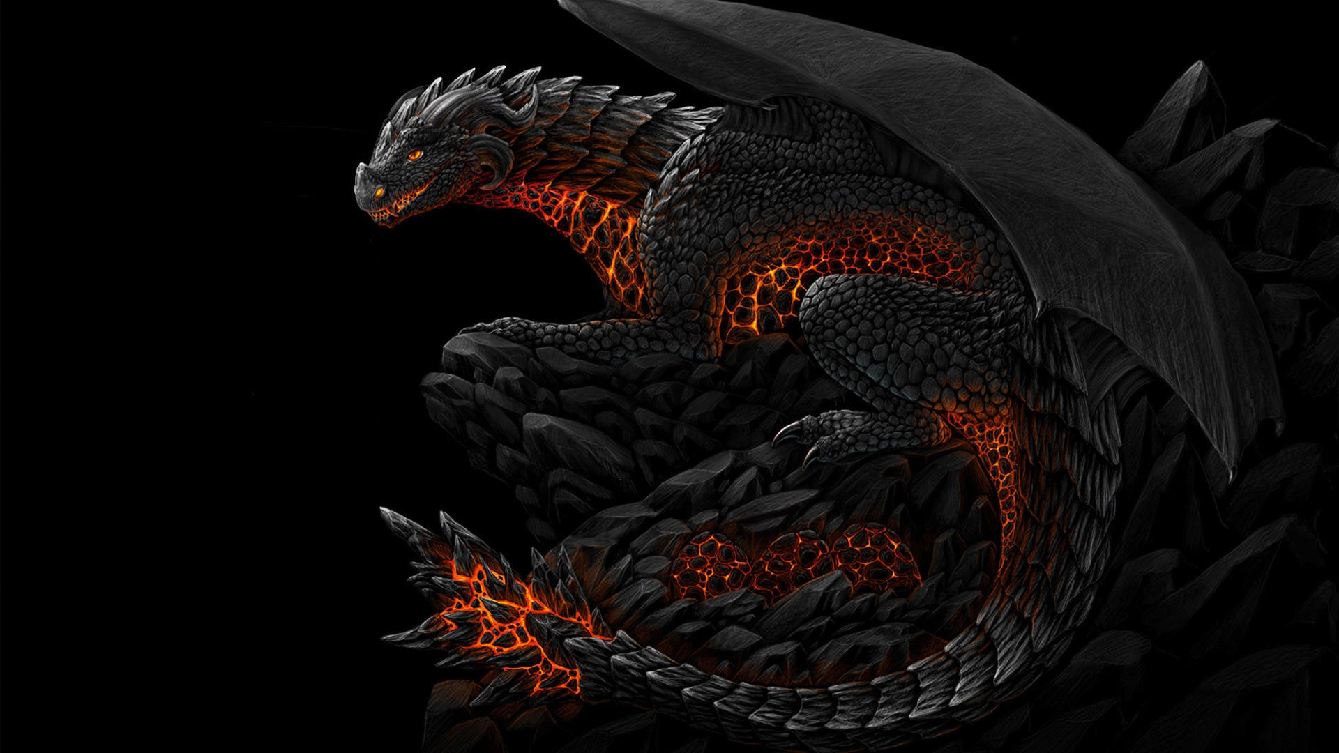 1920x1080 Black Dragon Wallpapers HD images