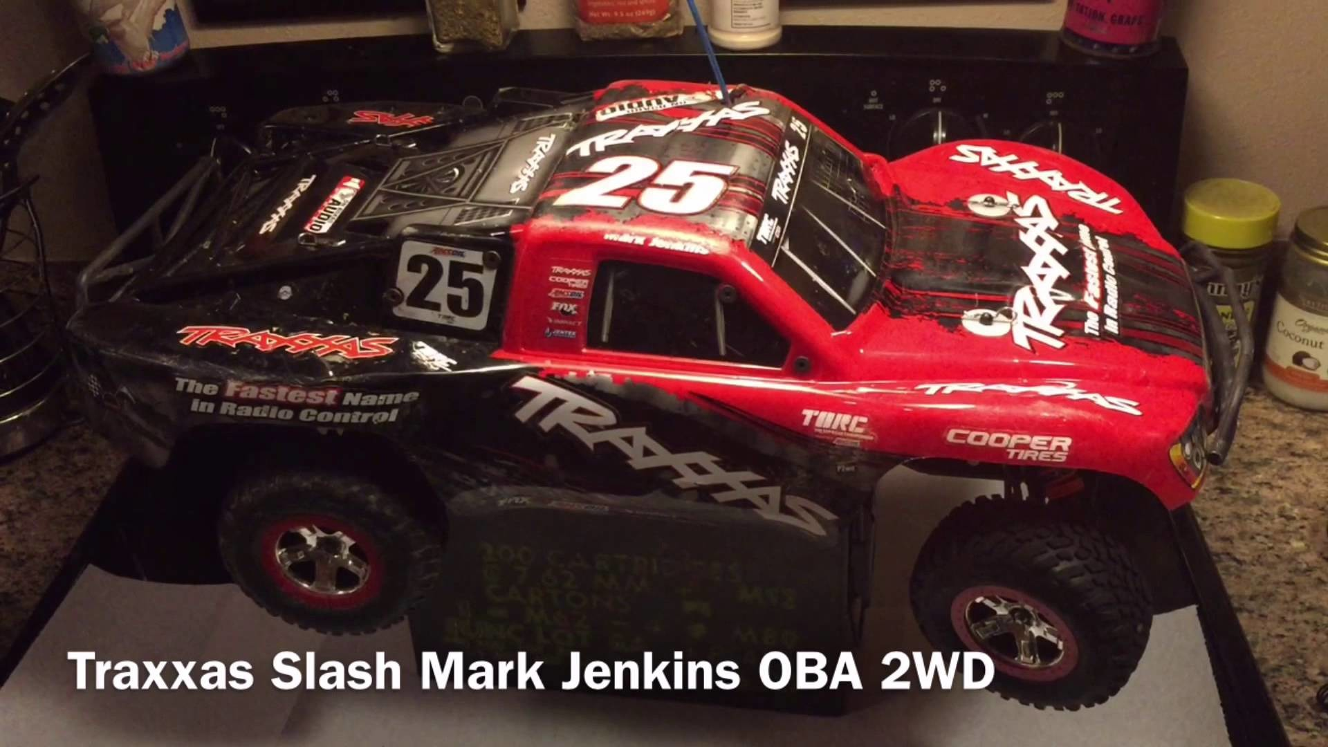 1920x1080 Traxxas Slash 2WD Mark Jenkins Edition OBA Front suspension spring in  time-lapse.