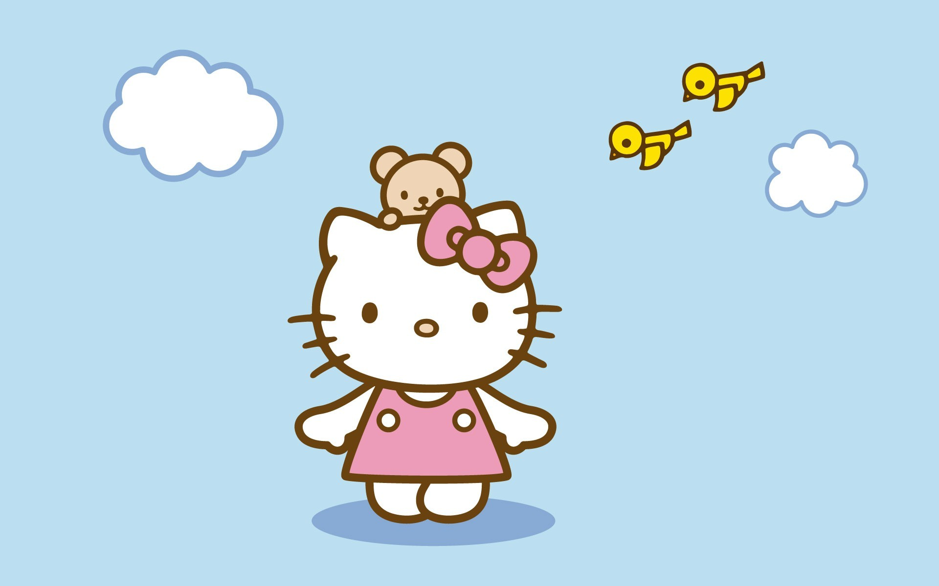 1920x1200 Hello Kitty background