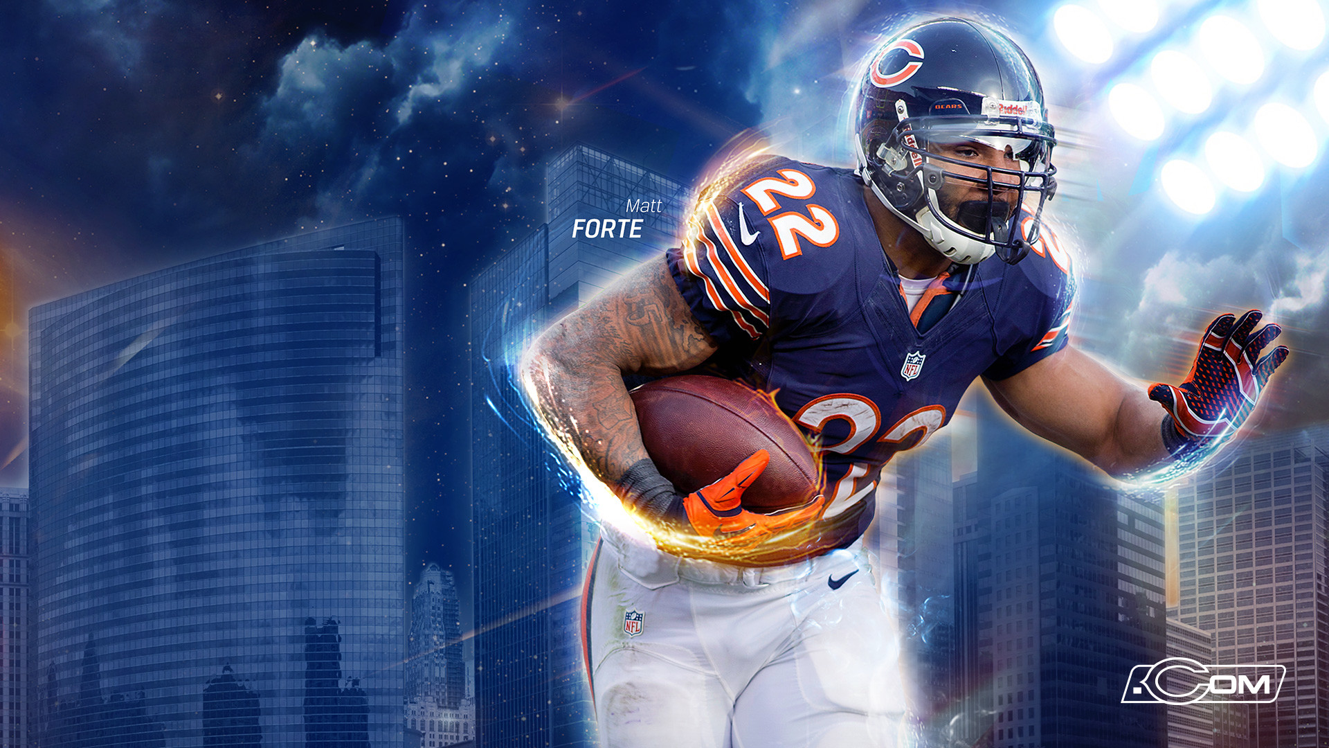 1920x1080 Free HD Chicago Bears Wallpaper