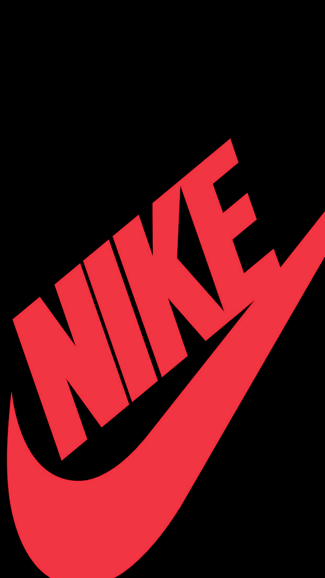 1242x2208  - Red Nike Wallpapers - Wallpaper Zone