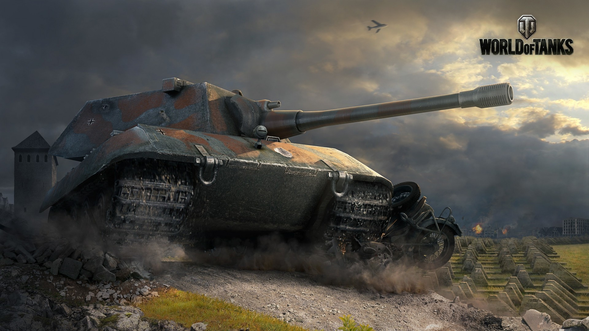 1920x1080 Preview Wallpaper World Of Tanks E 100 Tank Game