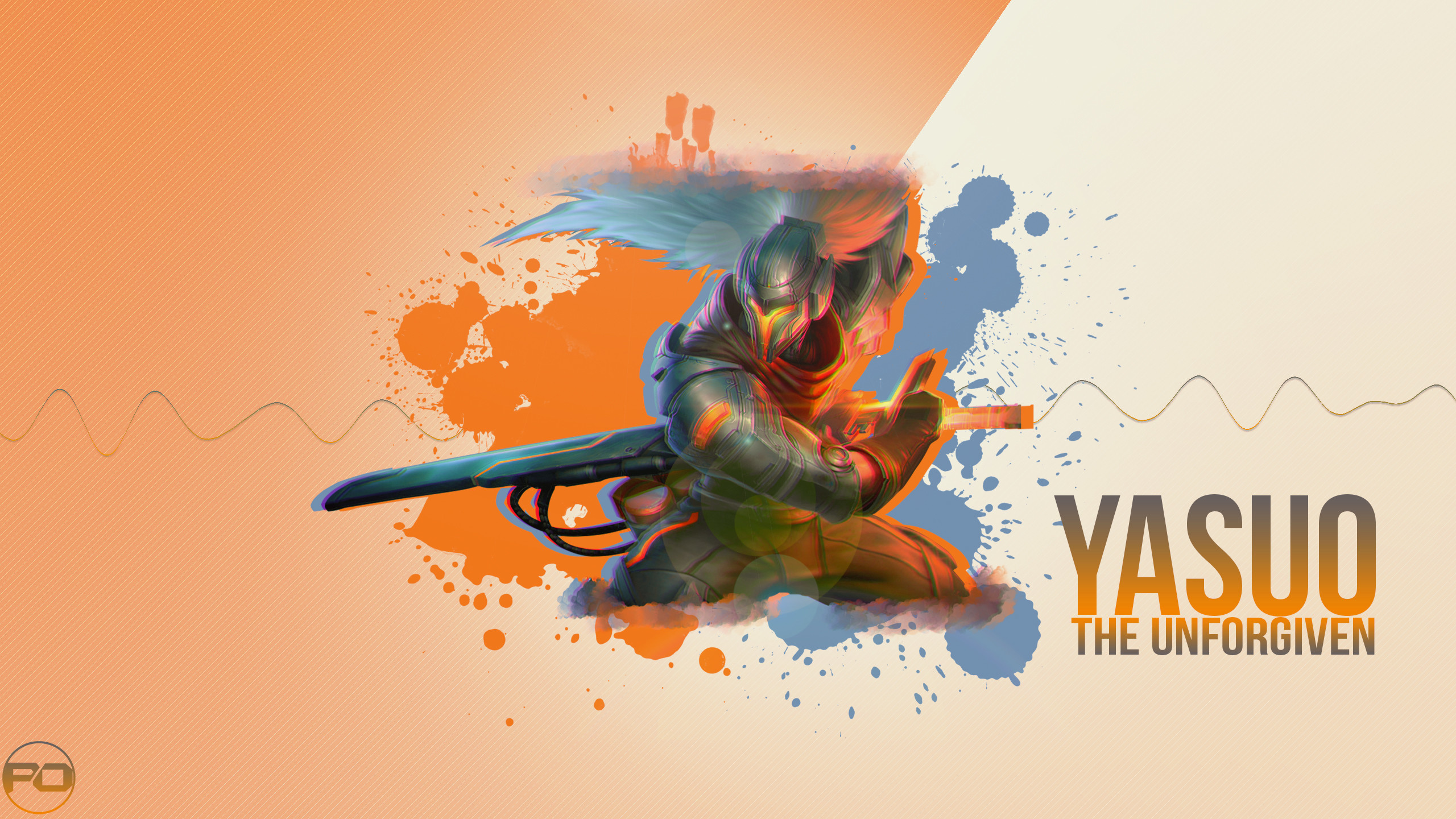 2560x1440 ... Project Yasuo wallpaper l 2560 x 1440 by PobbleD
