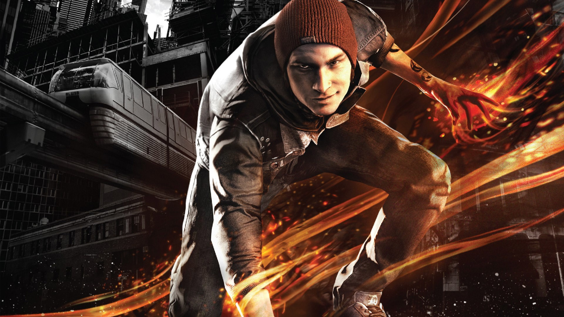 1920x1080 infamous second son widescreen retina imac