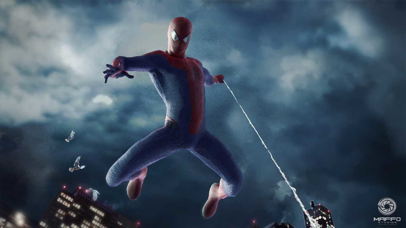 1920x1080 2048x1130 The Amazing Spider-Man 2012 City Wallpaper
