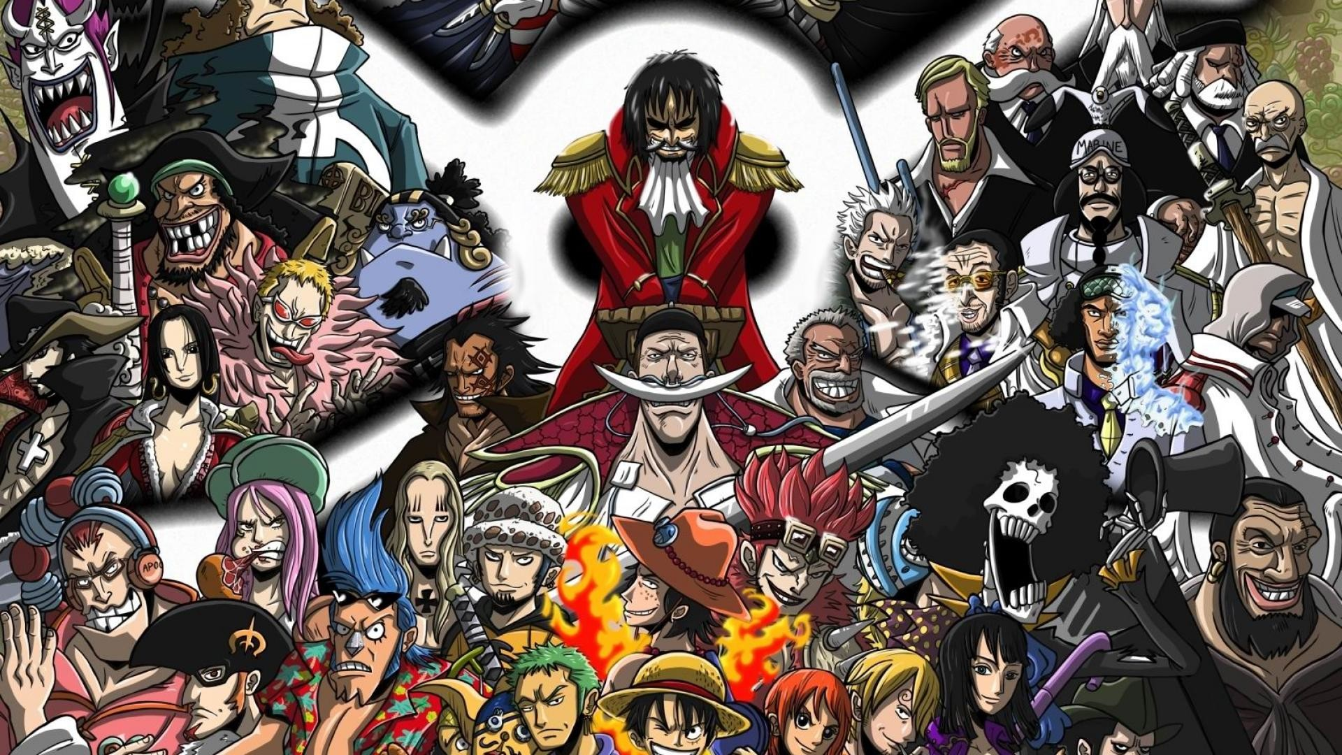 1920x1080 One Piece High Definition Wallpaper