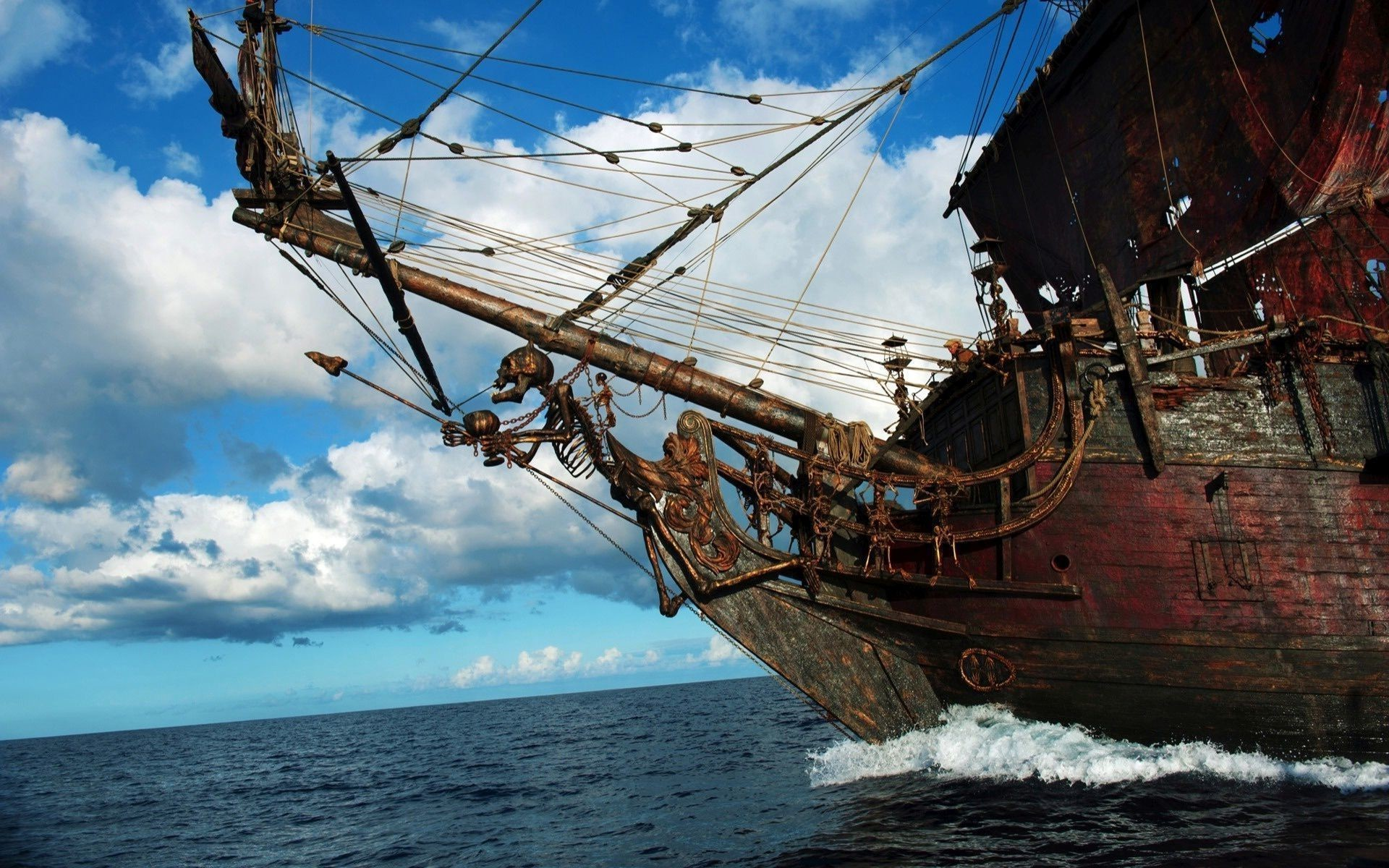 Pirates Of The Caribbean 5 Wallpapers Ship: Pirate Ship Wallpaper (82+ Images