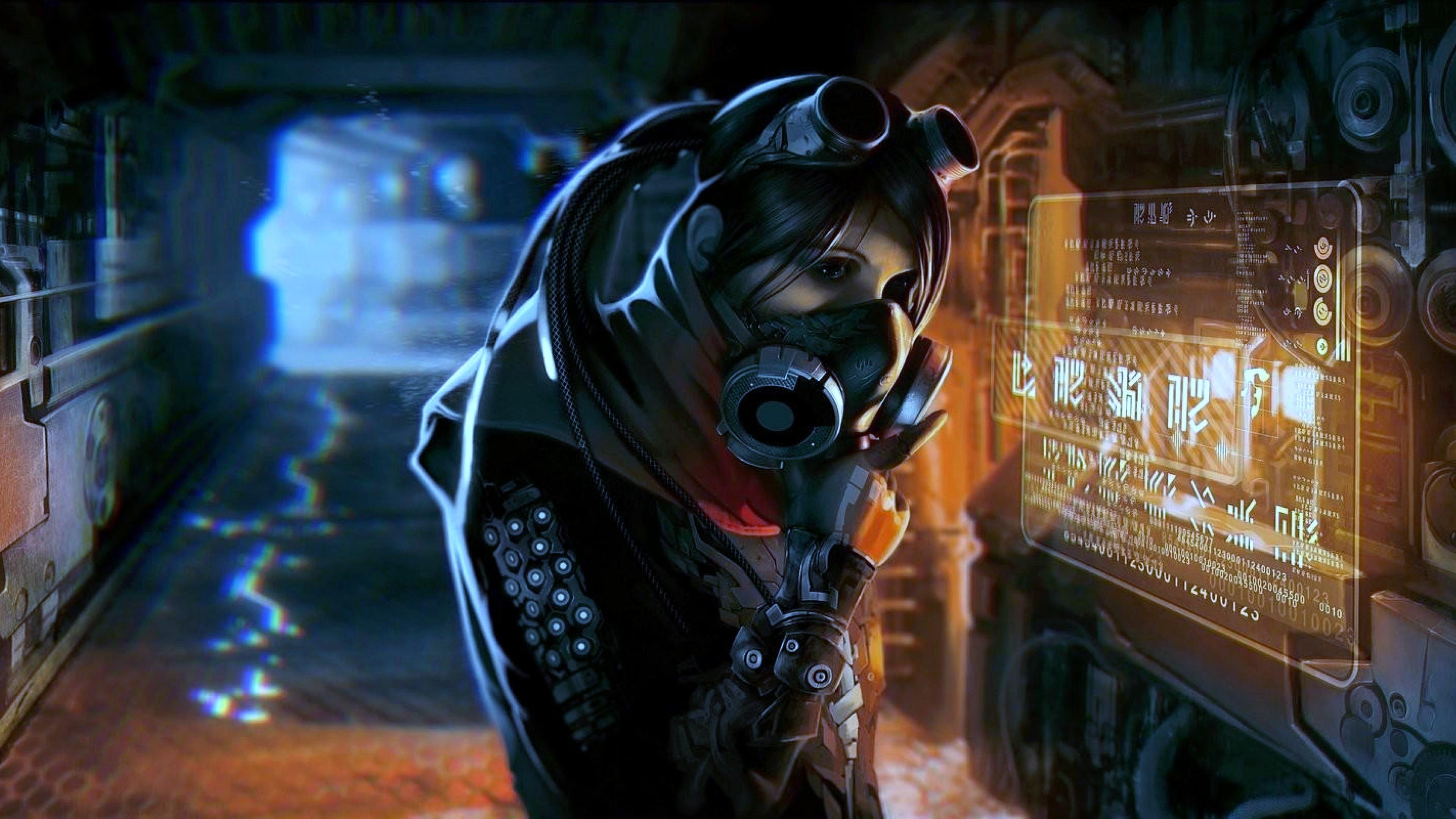 Women Warrior Artwork Sword Rain Cyberpunk Cyberpunk: Cyberpunk Wallpapers (87+ Images