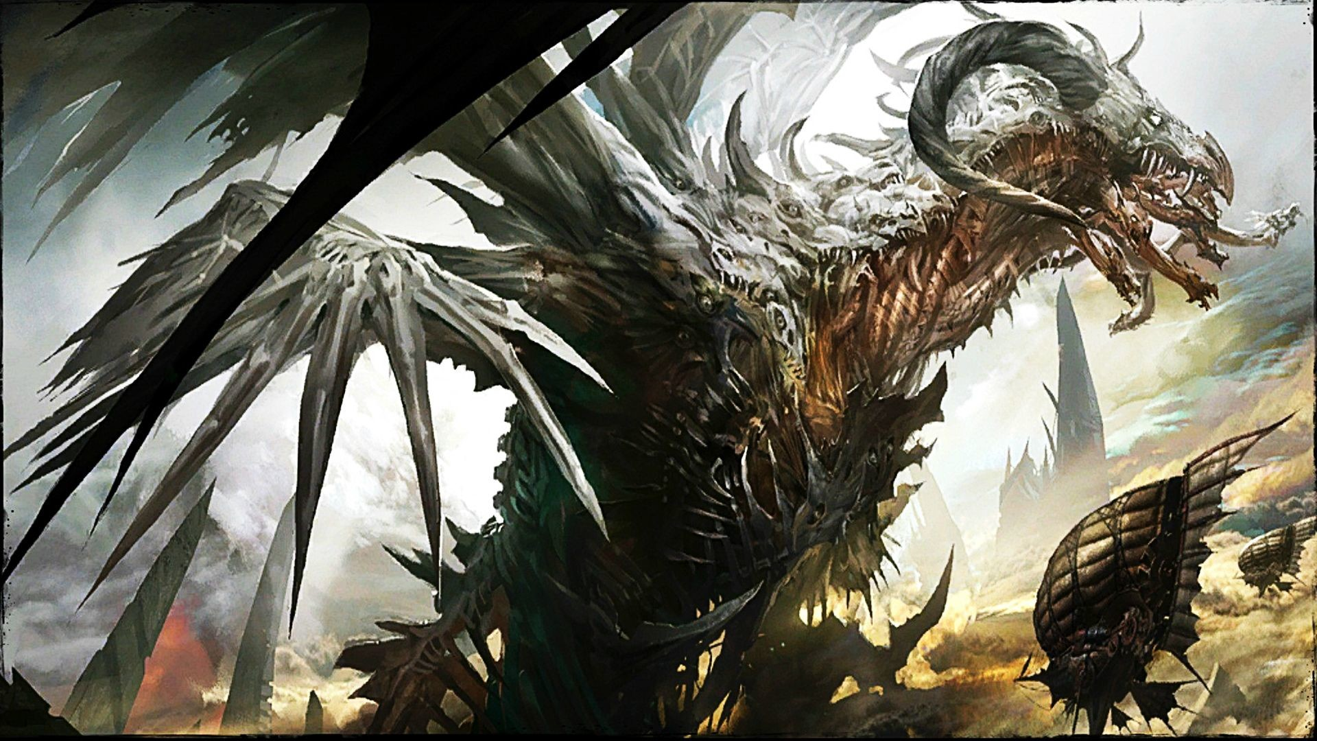 1920x1080 Guild Wars 2 Zhaitan wallpaper