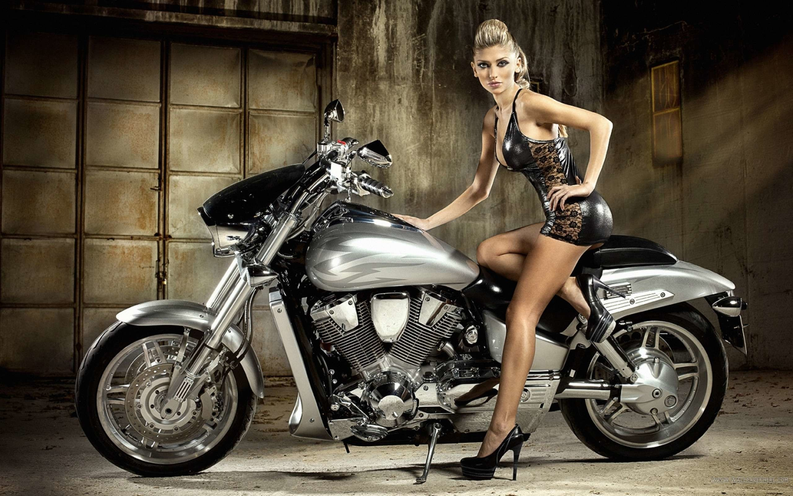 Motorcycle Girls Wallpapers 74 Images