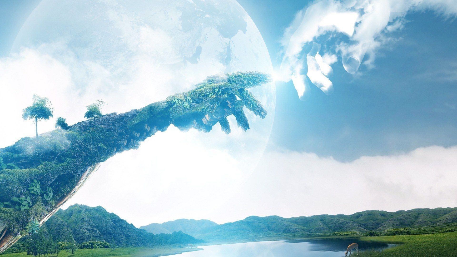 1920x1080 Touching earth to heaven wallpapers and images - wallpapers .
