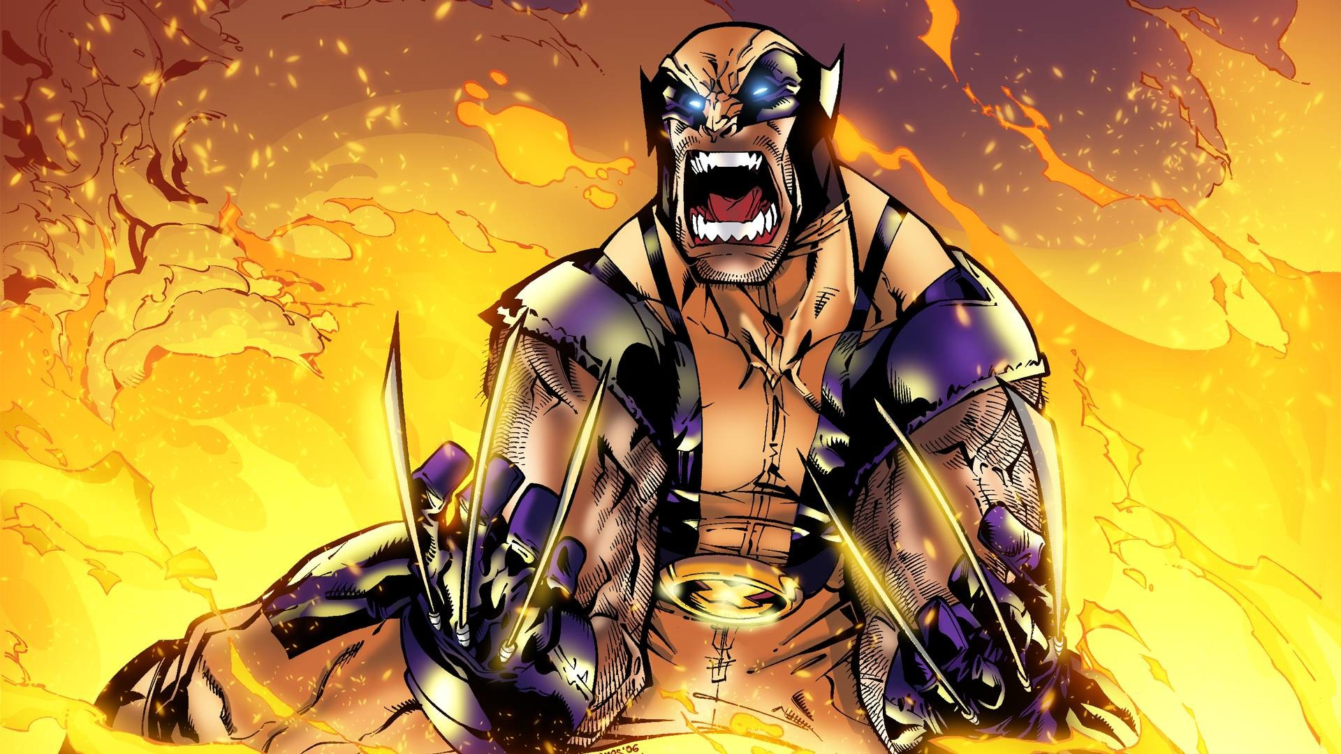 1920x1080 Wolverine vs Ultimate Spider-Men - Battles - Comic Vine