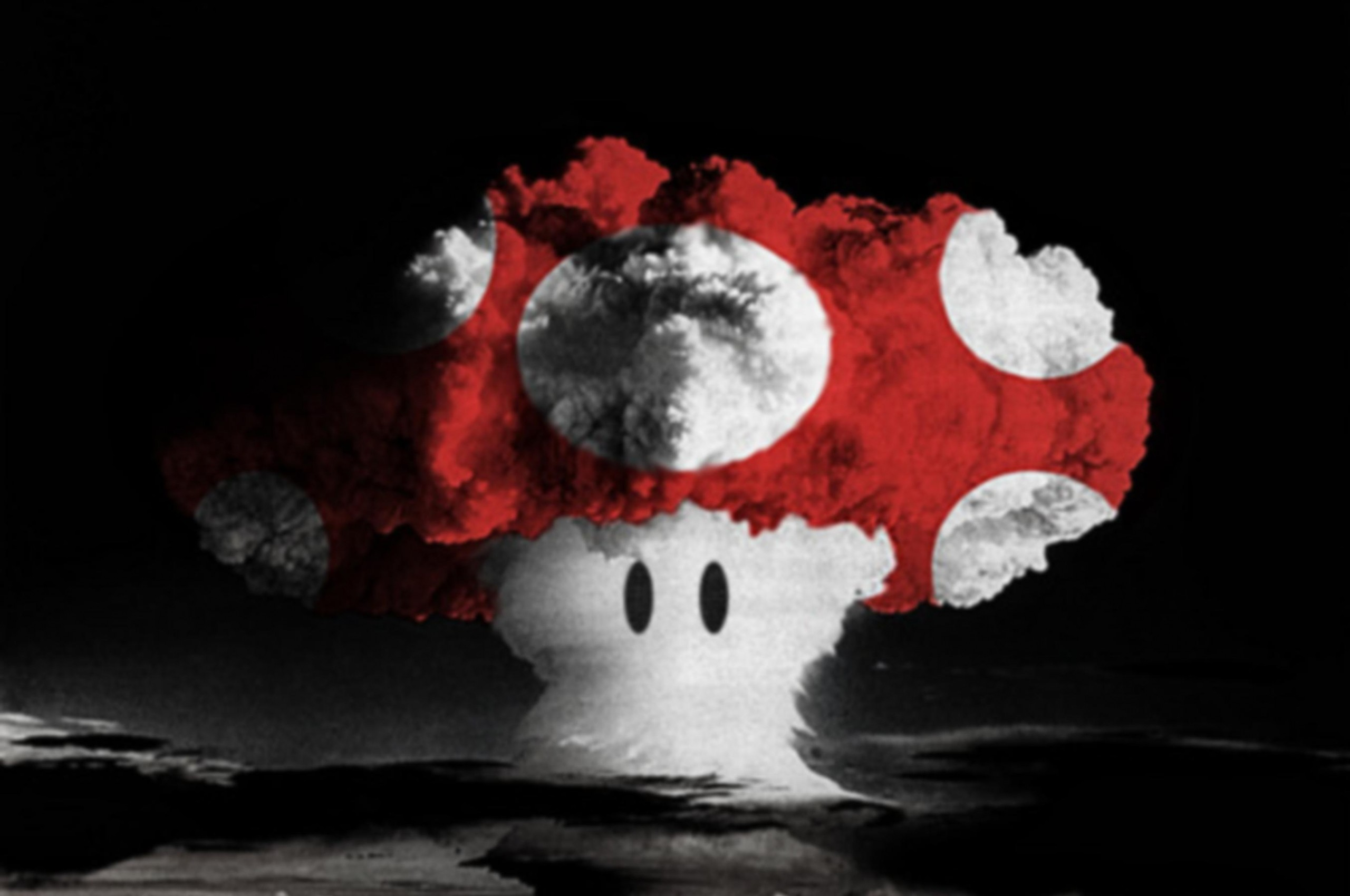 2560x1700 Mushroom Cloud Wallpaper