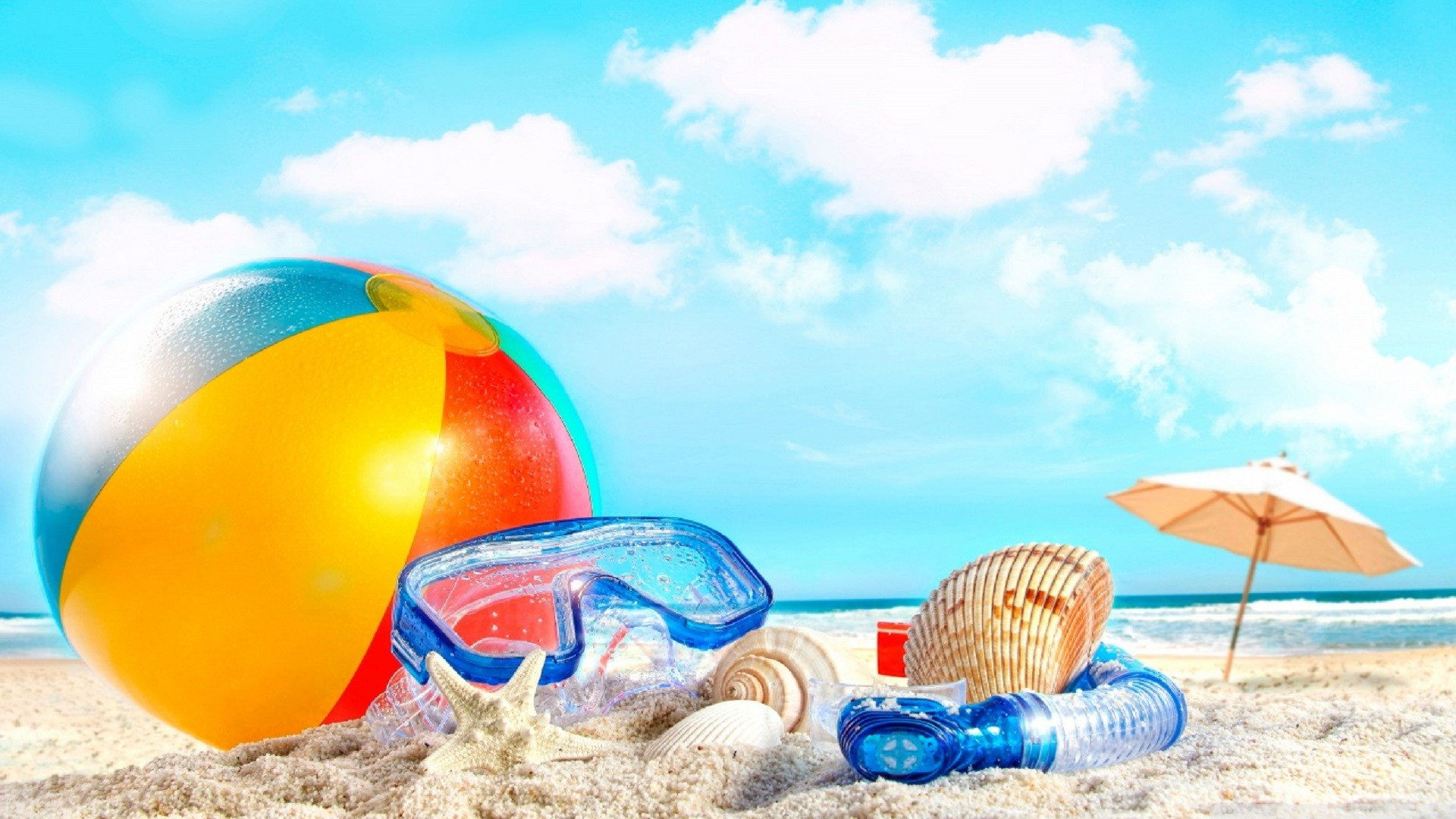Summer Beach Scenes Wallpaper (45+ Images