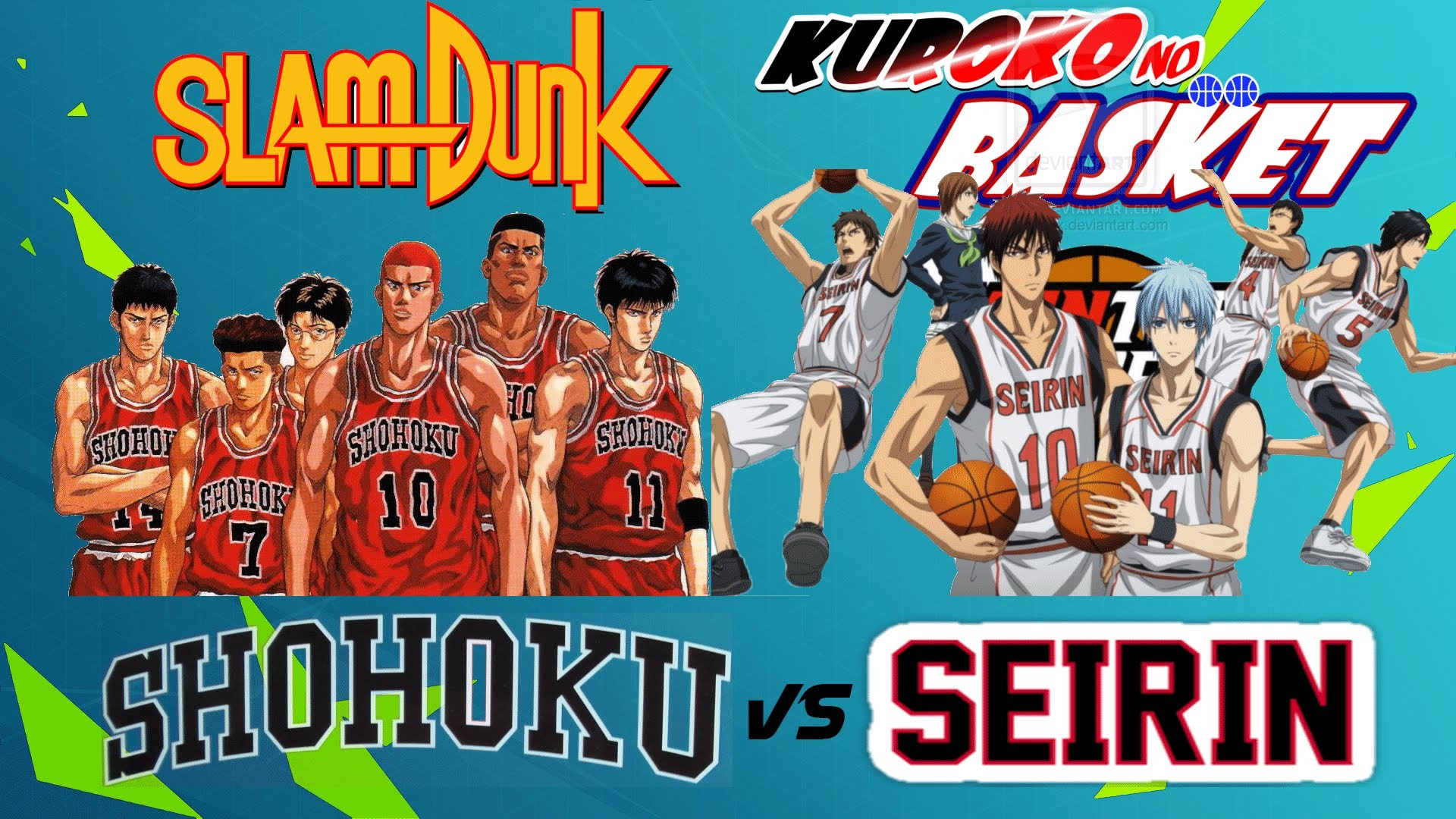 1920x1080 SHOHOKU vs SEIRIN | 1ª Parte | Crossover Slam Dunk vs Kuroko no Basket |  NBA 2k14 - YouTube