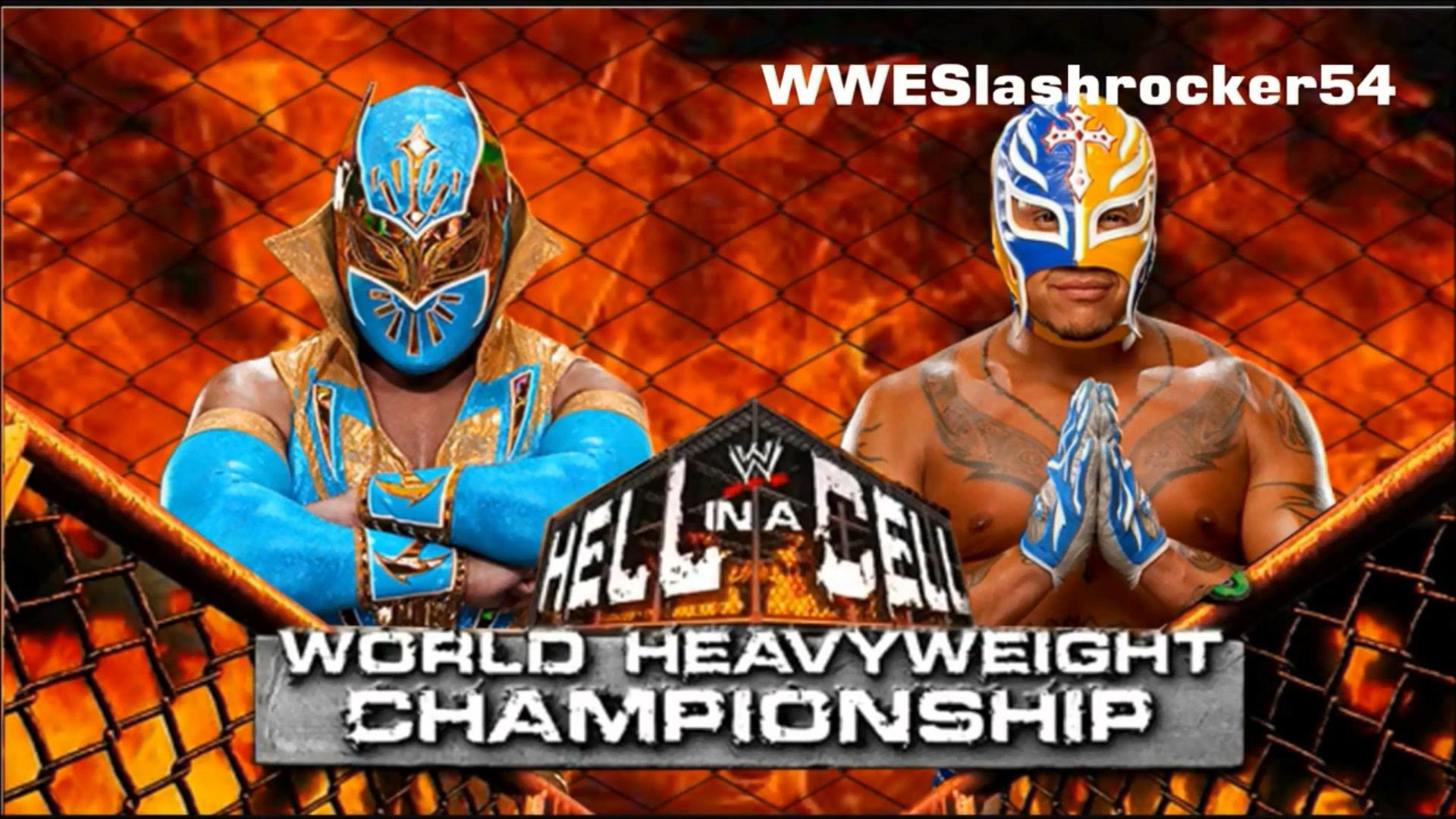 1920x1080 WWE Hell In a Cell 2012 Rey Mysterio vs Sin Cara