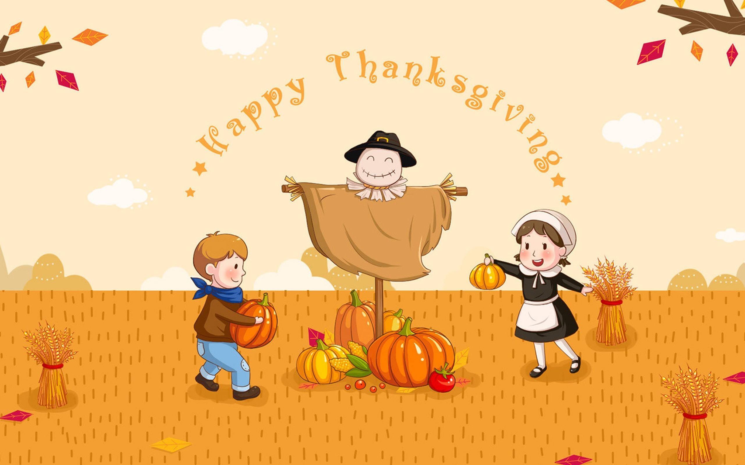 2560x1600  Happy Thanksgiving Day Images
