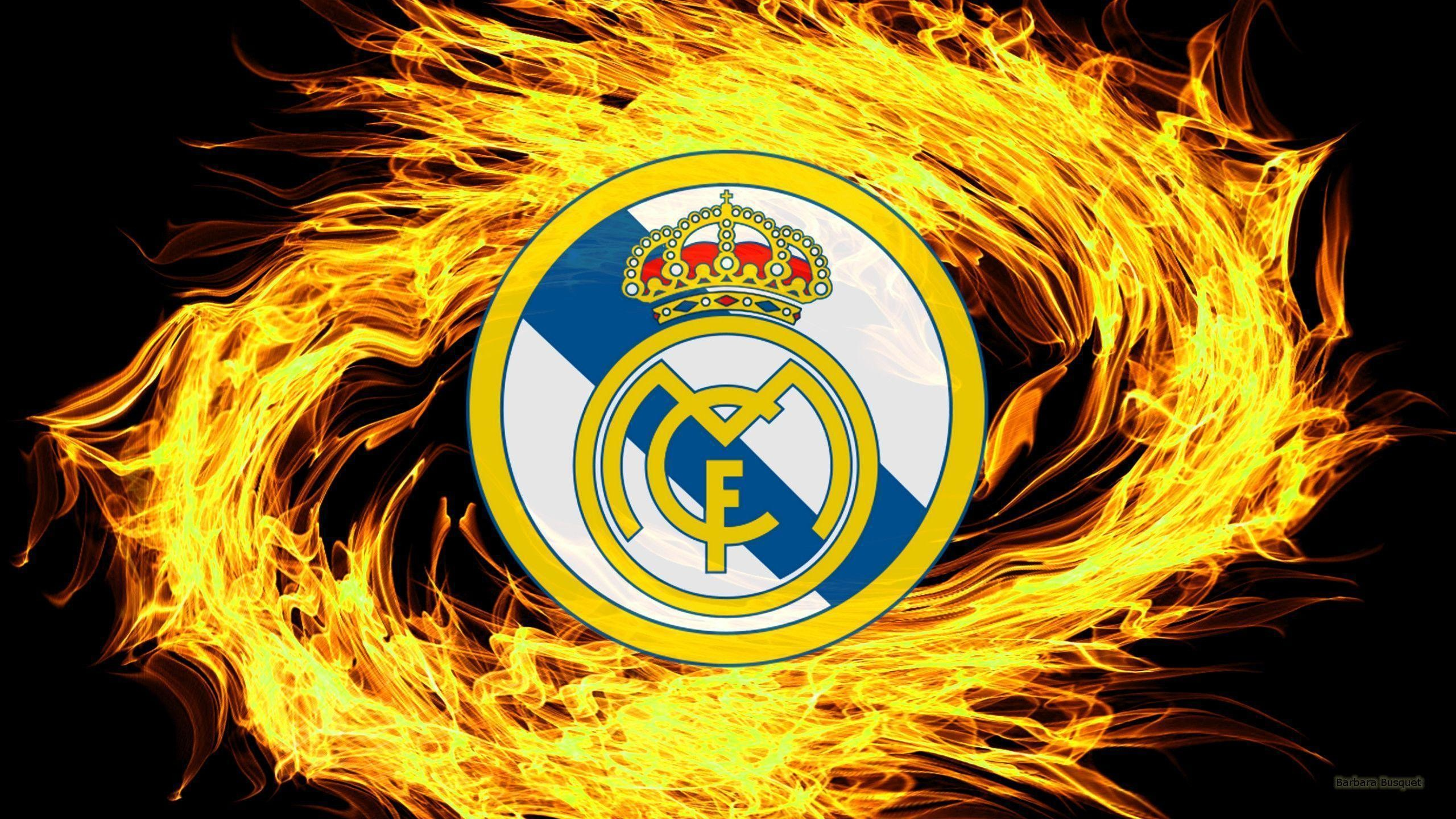 2560x1440 Real Madrid Logo Wallpapers - Barbaras HD Wallpapers