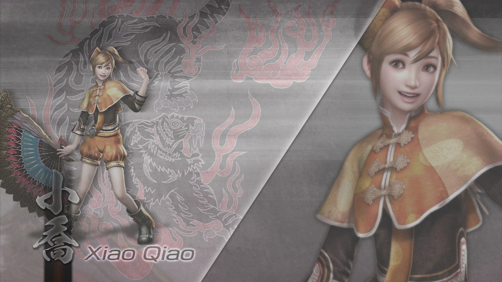 1920x1080 DynastyWarriors7 8 0 DW7 - Xiao Qiao by DynastyWarriors7