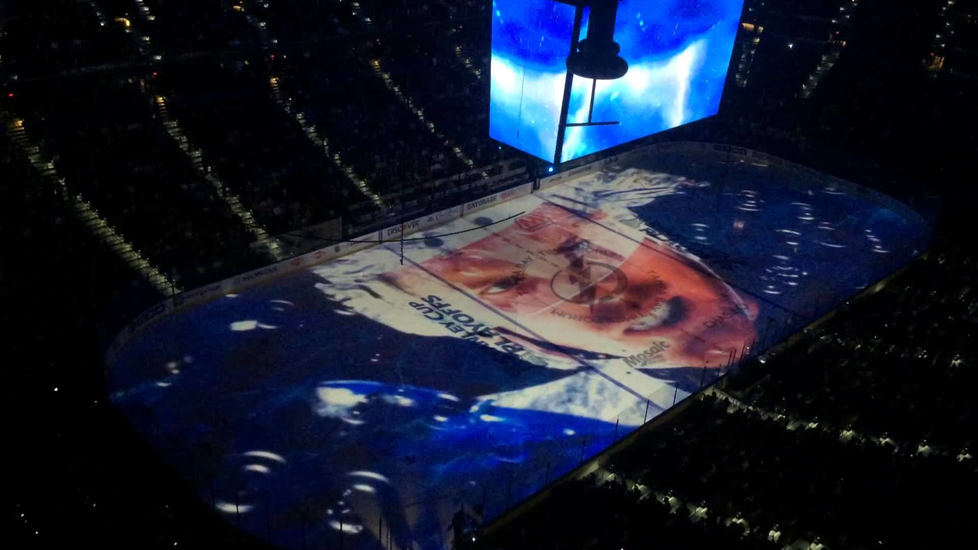 1920x1080 Tampa Bay Lightning Playoff opening ceremony