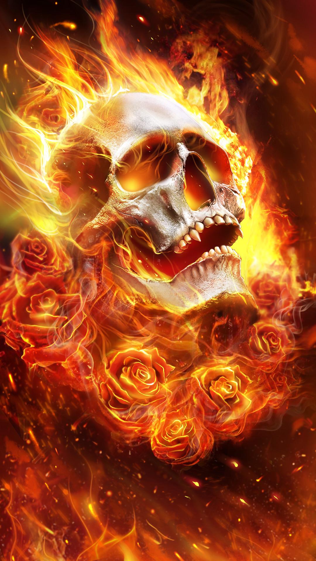 Skull art wallpaper 71 images - Skeleton wallpaper ...