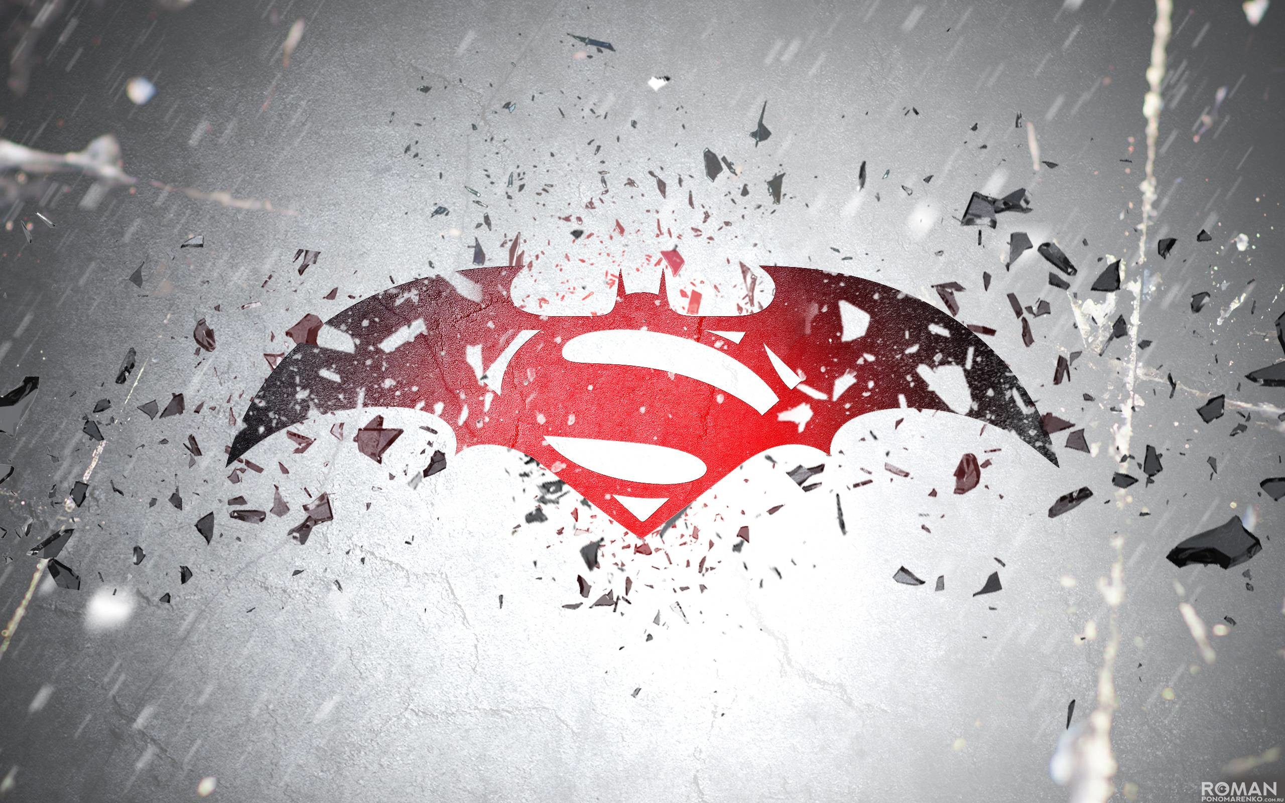 2560x1600 Batman V Superman Logo Exclusive HD Wallpapers #6799