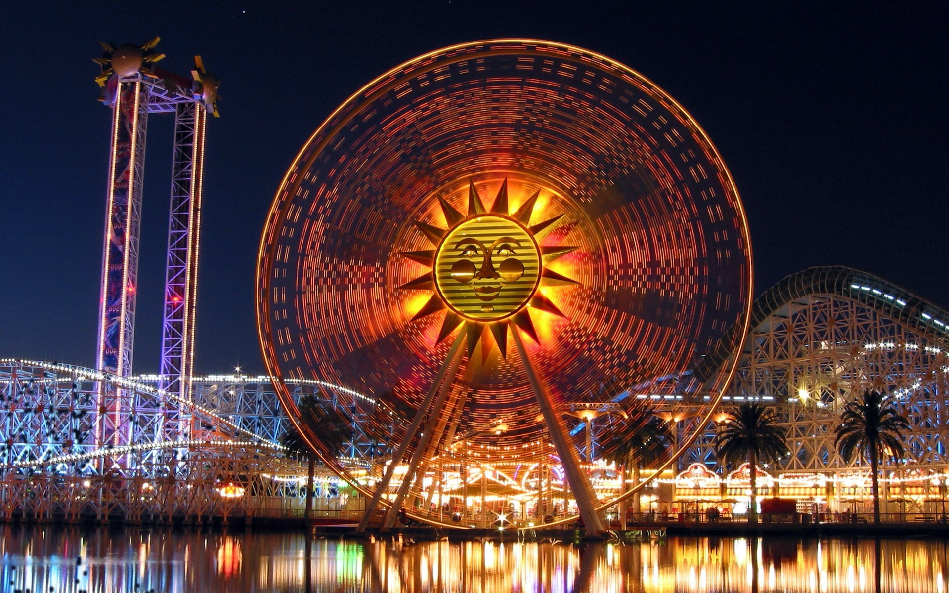 1920x1200 Walt Disney World Ferris Wheel (1920X1200) ...