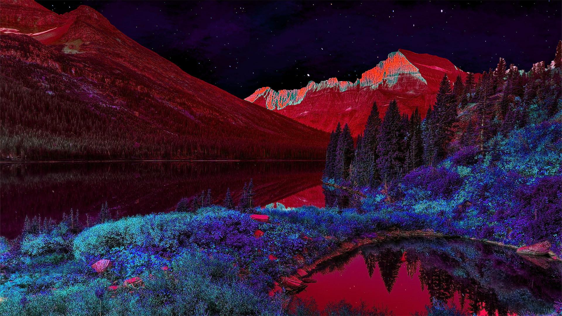 Trippy Landscape Wallpaper 70 Images