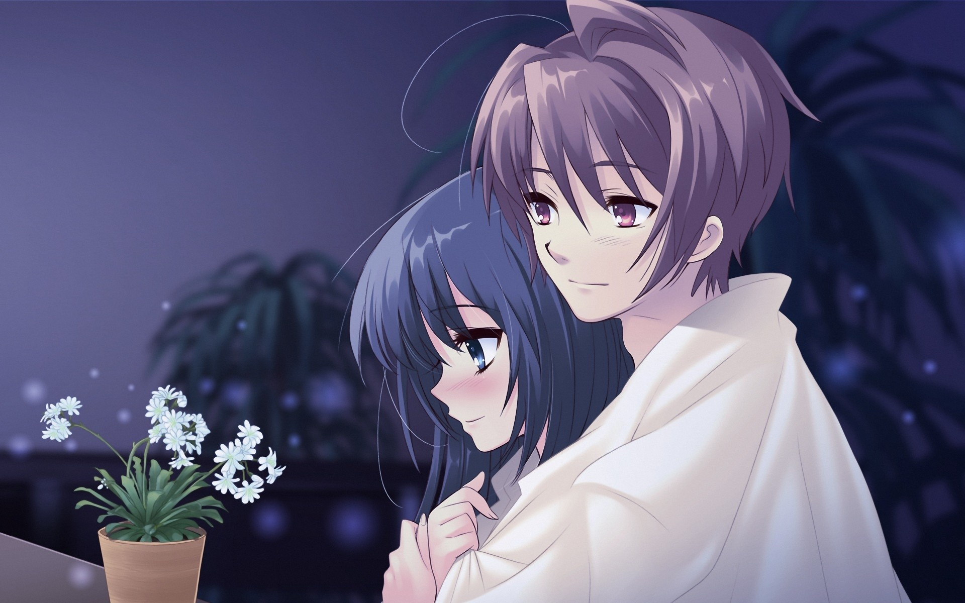 cute anime couple wallpaper (70+ images)
