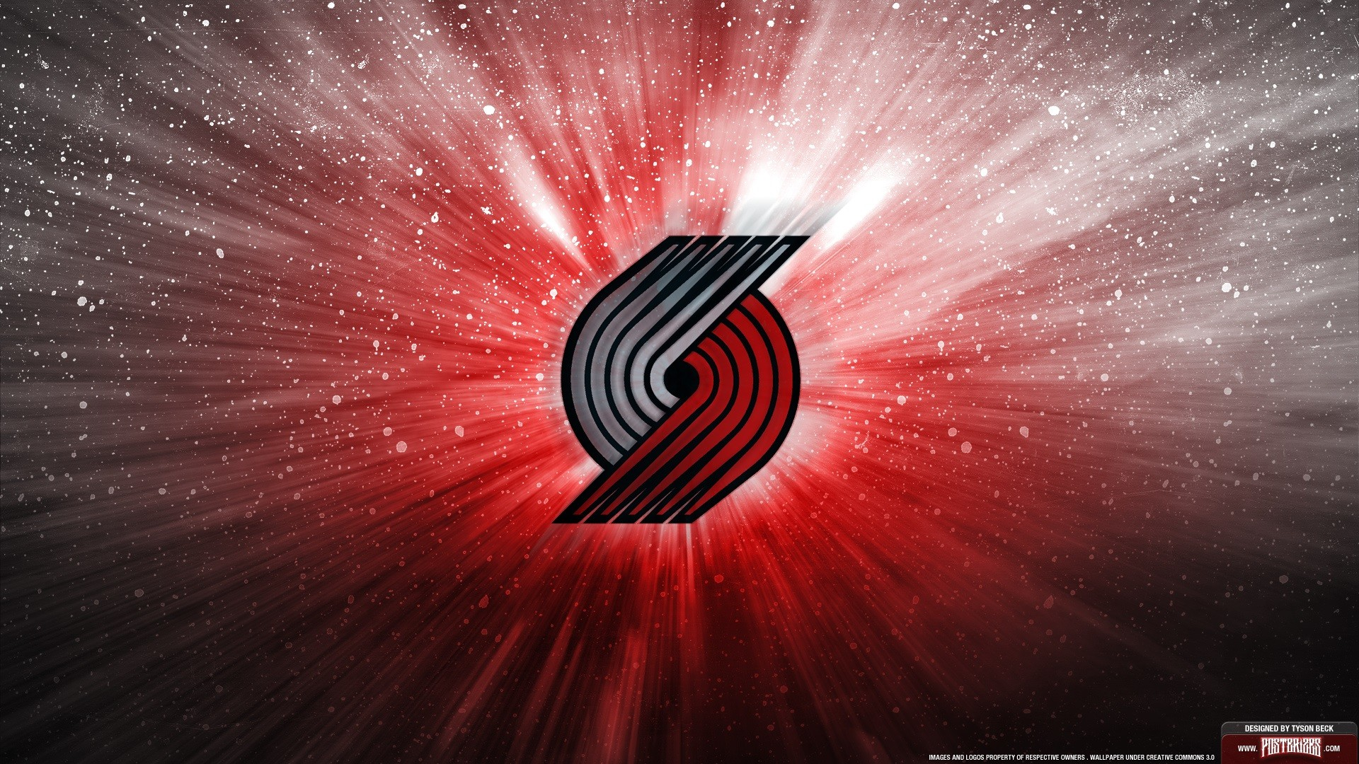1920x1080 Portland Trail Blazers Logo desktop background