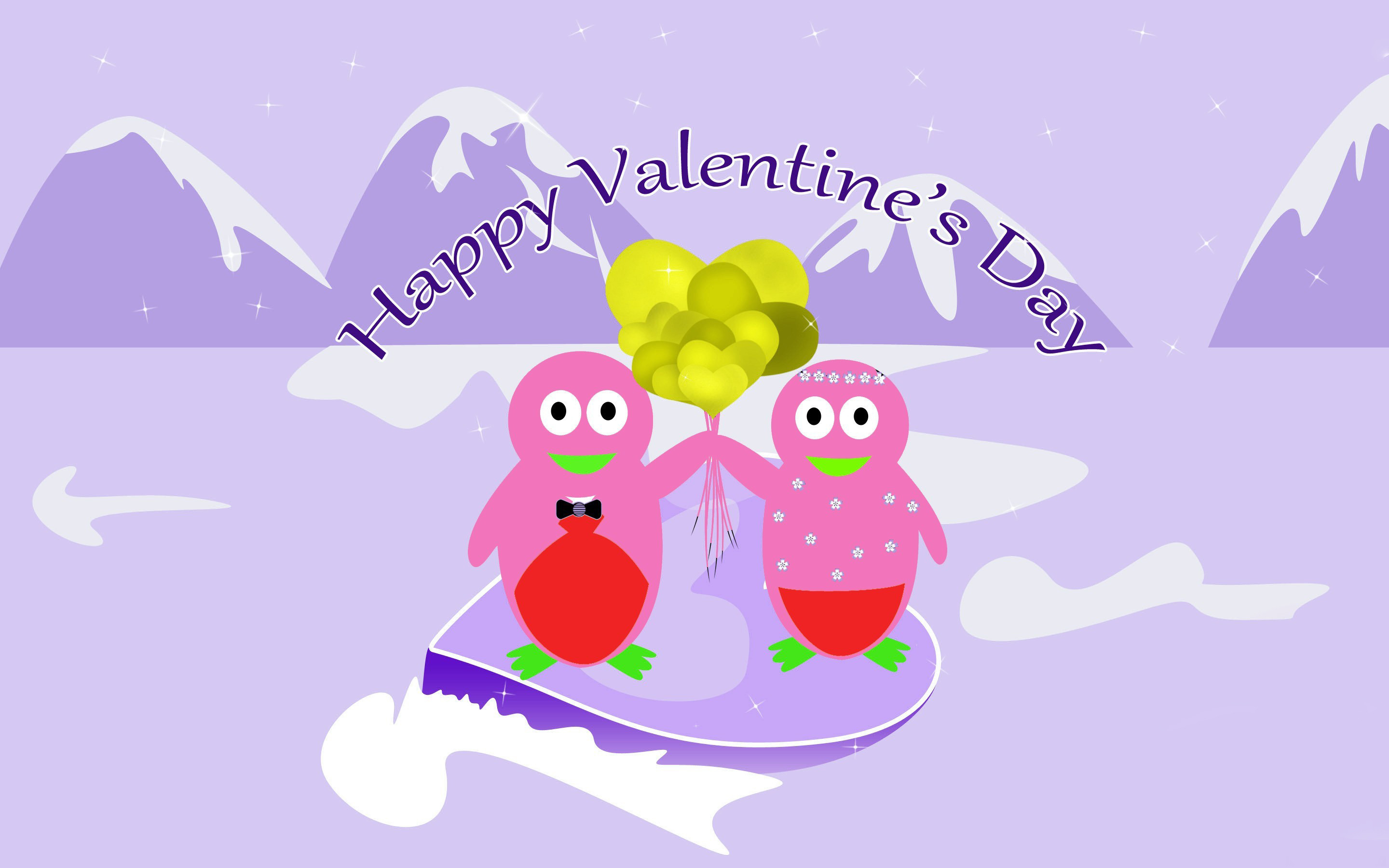 2880x1800 Valentines Day Cartoon Wallpapers