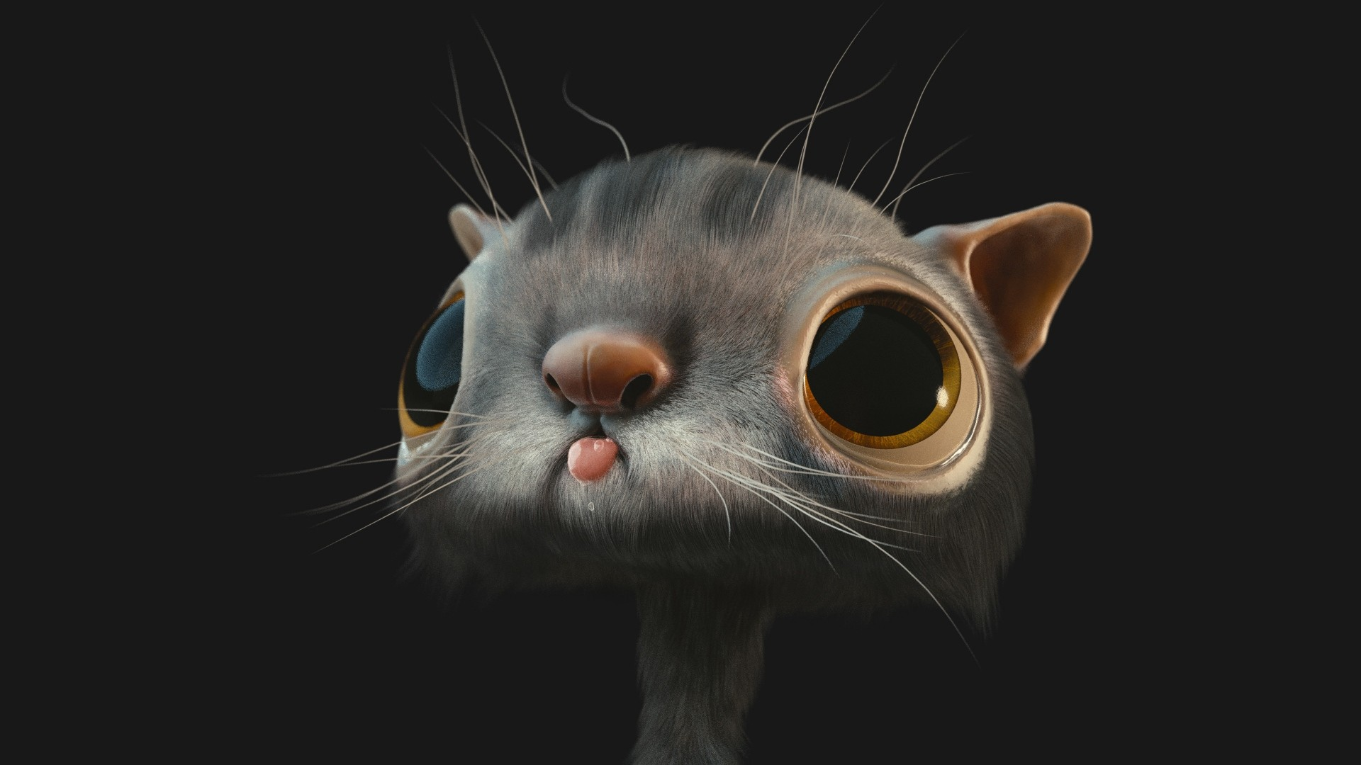 3d Cat Wallpaper 58 Images