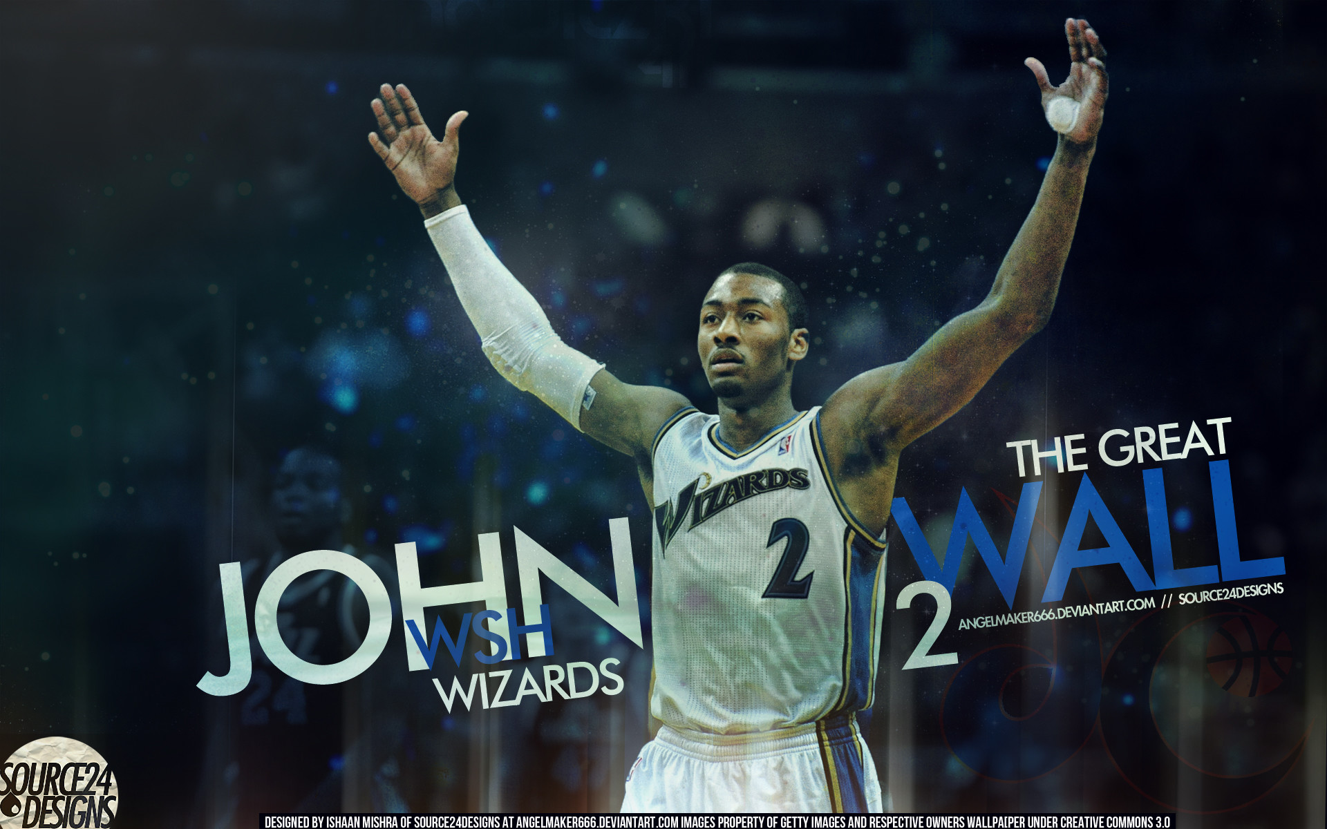 1920x1200 John Wall, Young and Outstanding Player, 2010 NBA Draft #1 - NBA Picture