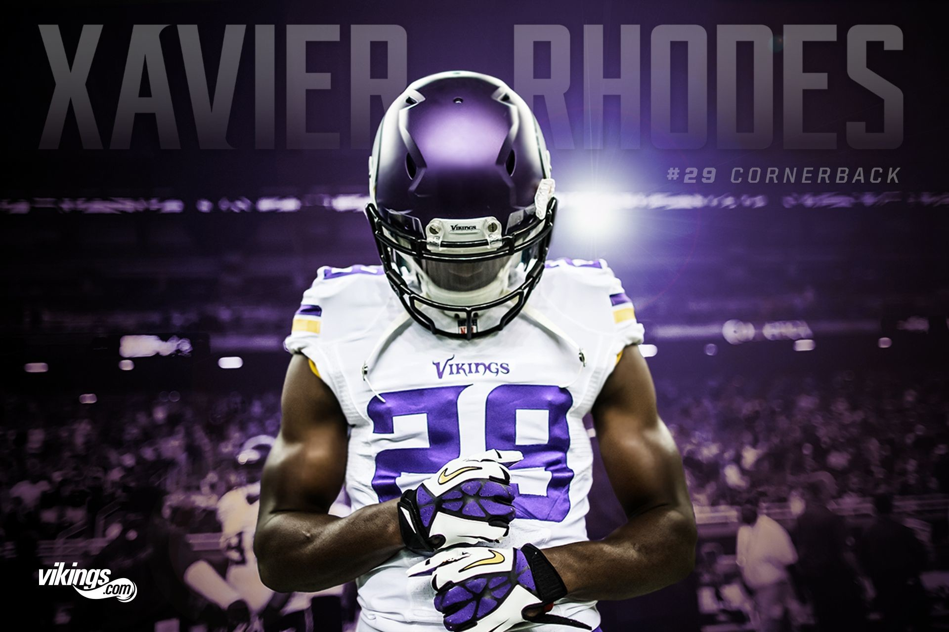 1920x1280 Xavier Rhodes - Minnesota Vikings Minnesota Vikings Wallpaper, Xavier  Rhodes, Viking Hall, Viking