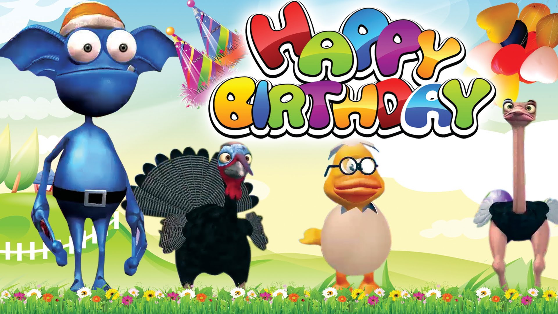 1920x1080 happy birthday songs animal cartoon animated wishes by funny wallpaper high  definition desktop background on other
