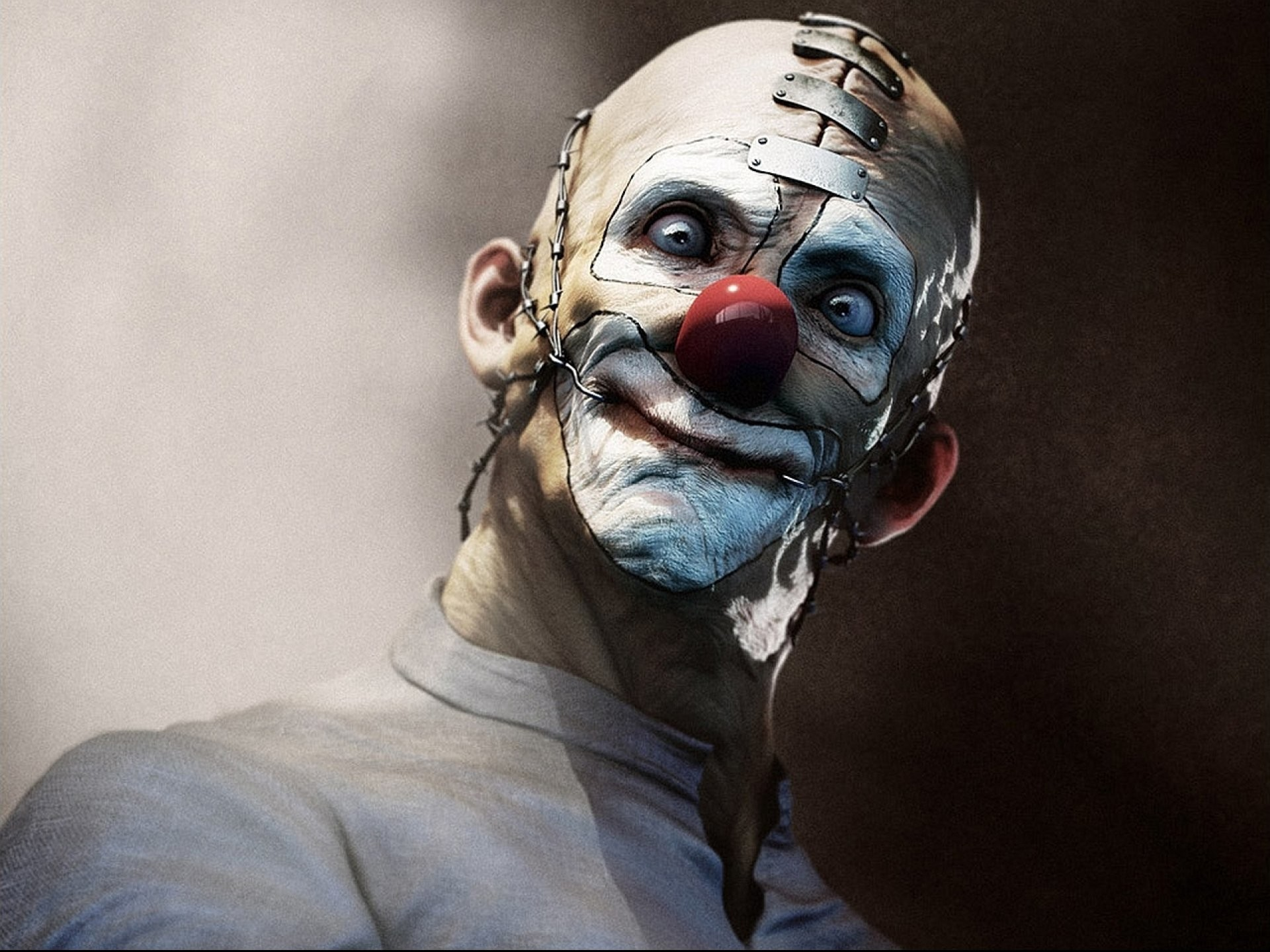 1920x1440 Scary Clown, HD Quality Cover, Olalla Casterou