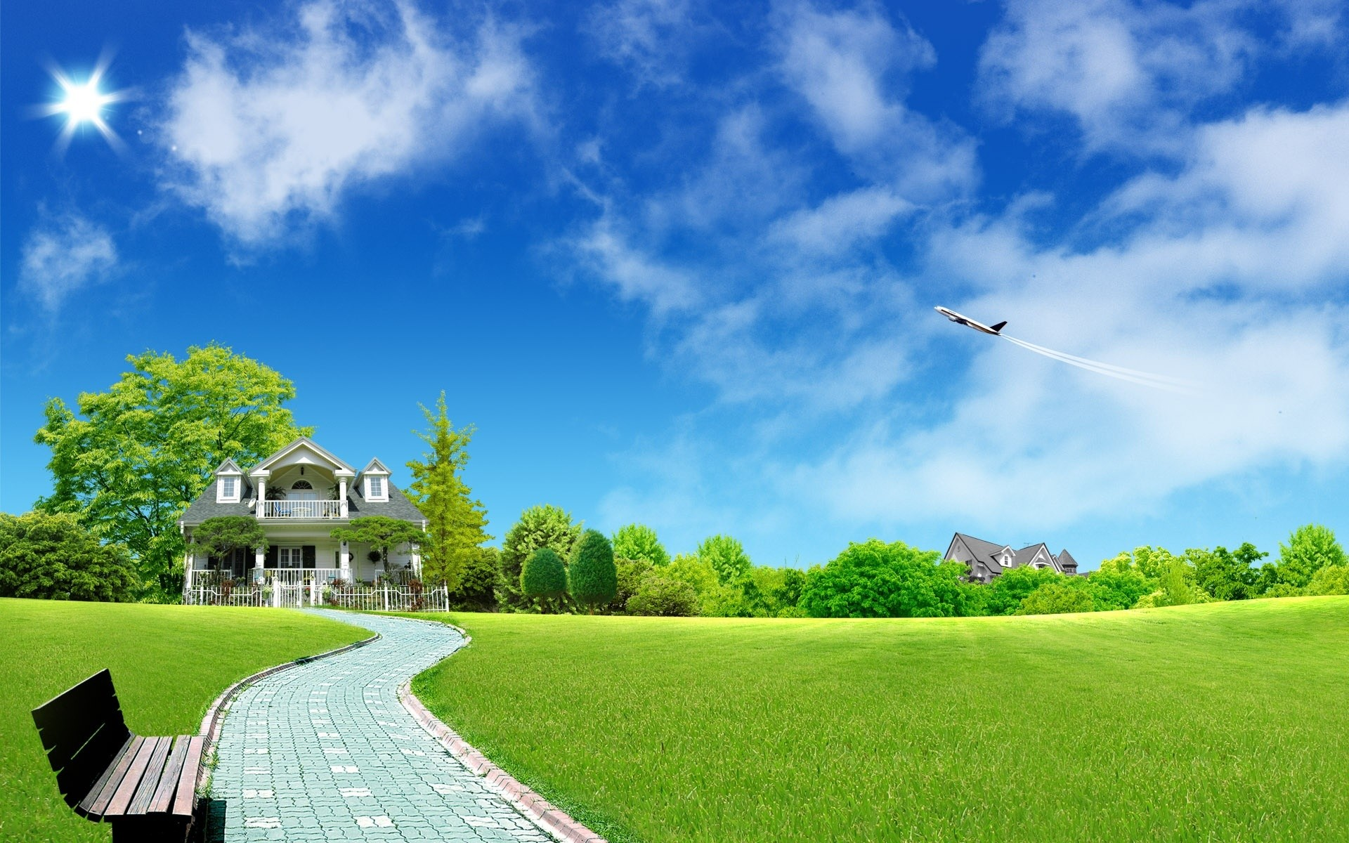 1920x1200 Residential. Hd Wallpapers For LaptopFree Hd WallpapersDesktop BackgroundsHd  Nature ...