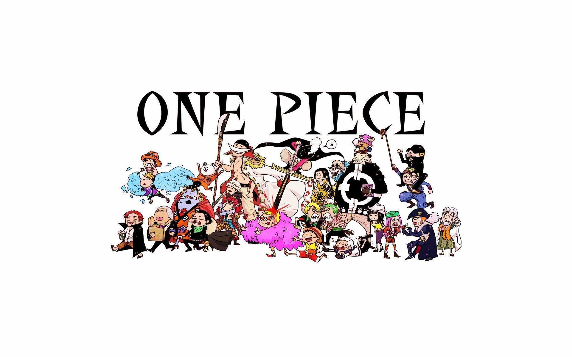 1920x1200 One Piece Anime Chibi 27 HD Wallpaper