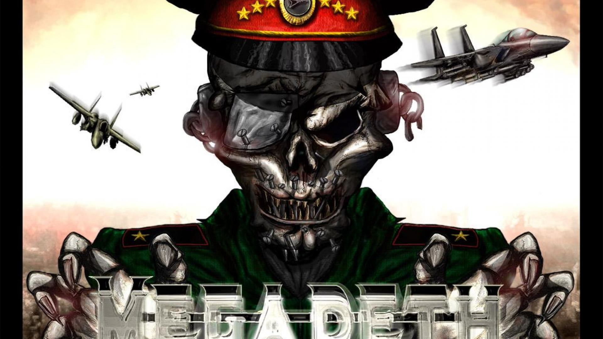 1920x1200 Download Megadeth Wallpapers To Your Cell Phone Black Heavy Logo 1920A 1200