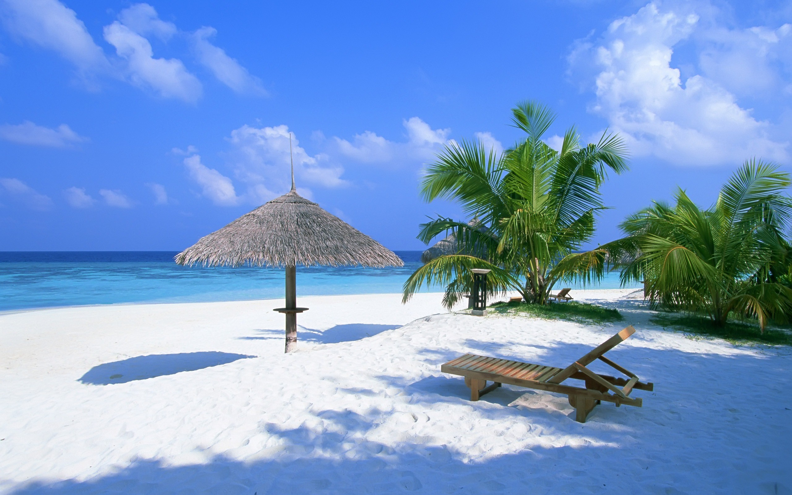 2560x1600 Exotic Paradise Wallpaper Beaches Nature