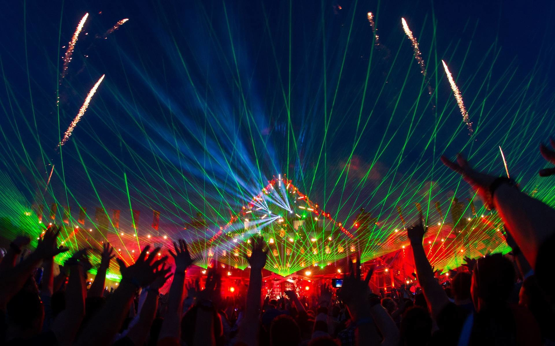 Download Ultra Music Festival Wallpaper Hd Gallery: Tomorrowland 2018 Laser Show HD Wallpaper (72+ Images