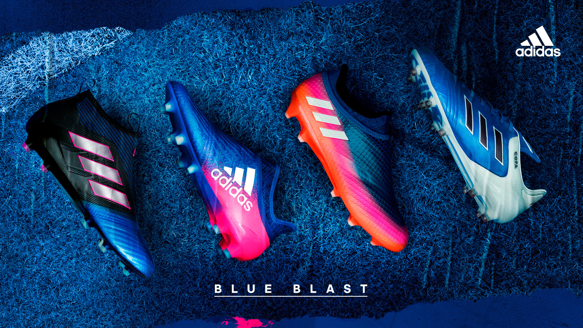 pretty nice ebd98 e2c7d 1920x1080 Pro Direct Soccer - adidas Blue Blast Football Boot Collection, Football  Boots,