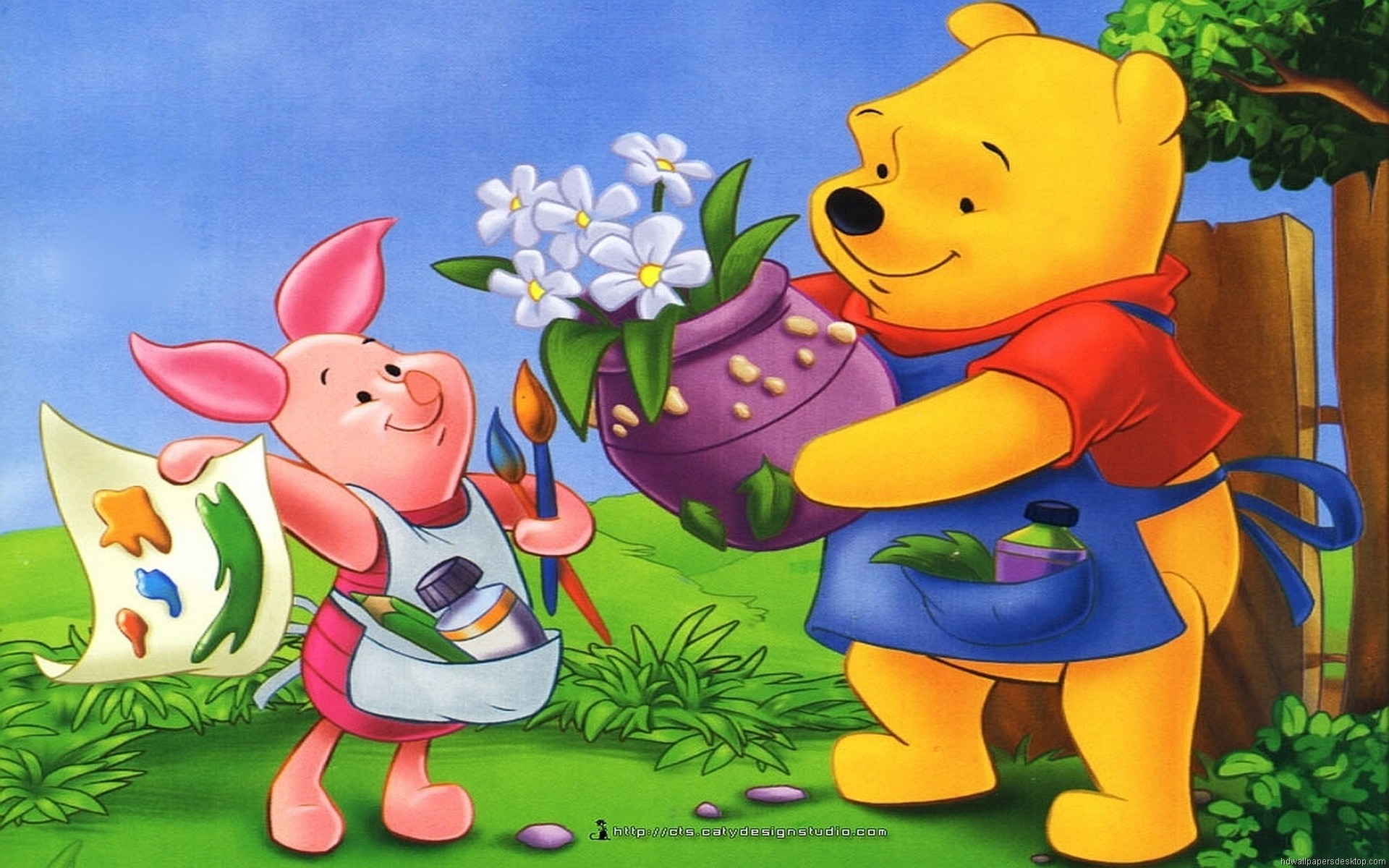 Winnie the Pooh Backgrounds (63+ images)