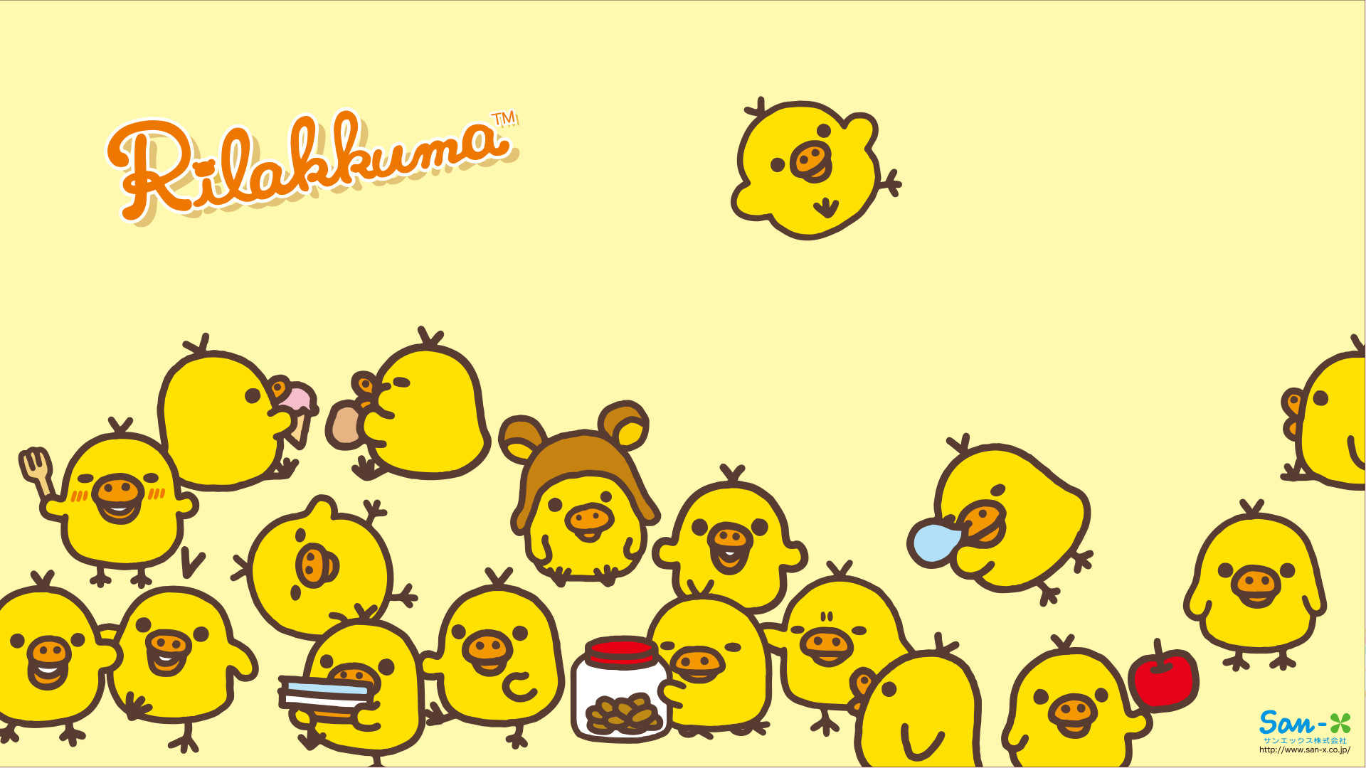 1920x1080 Rilakkuma Wallpapers