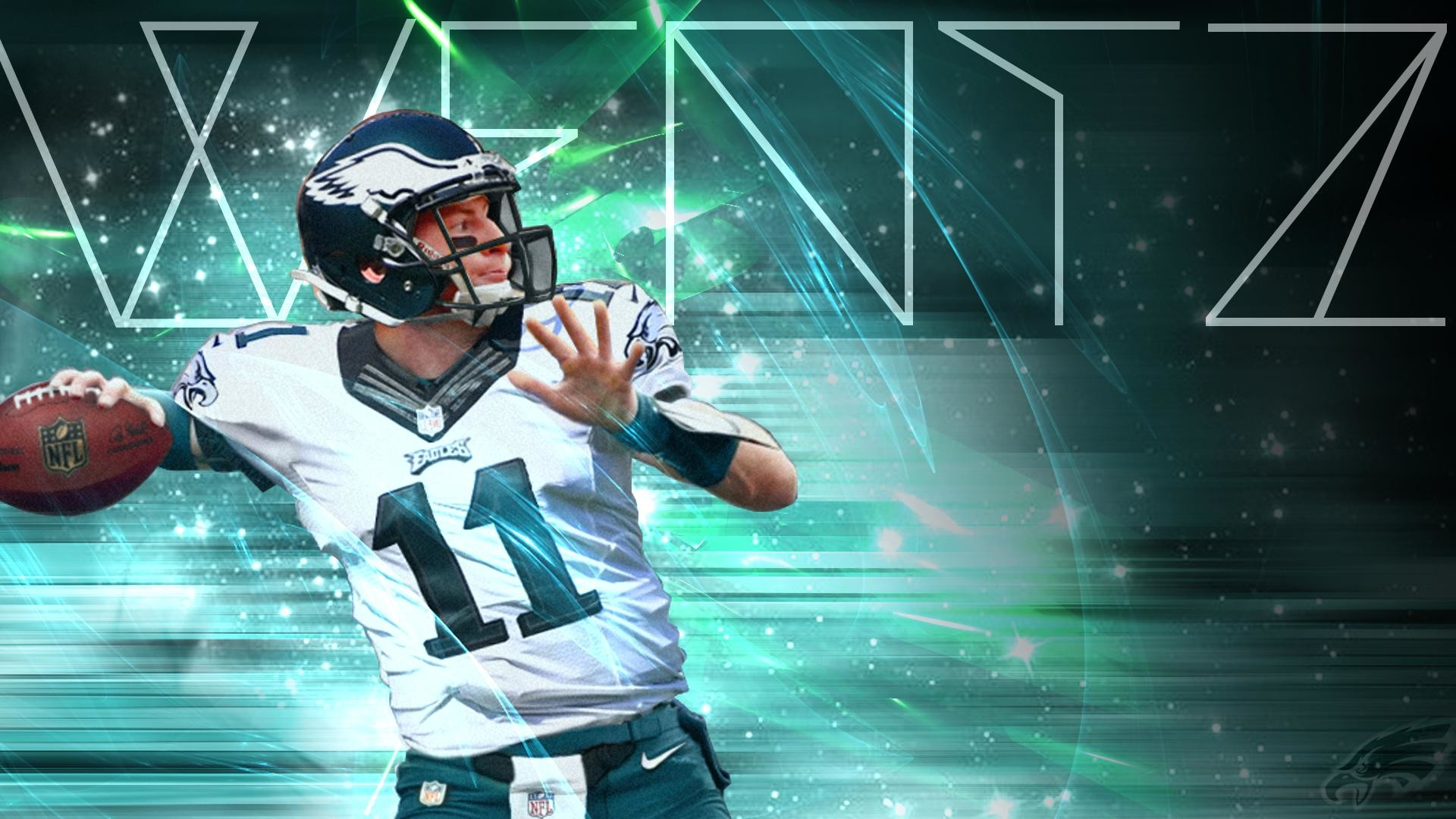 1920x1080 Carson Wentz Desktop Wallpaper () + Mobile Version in Comments ...