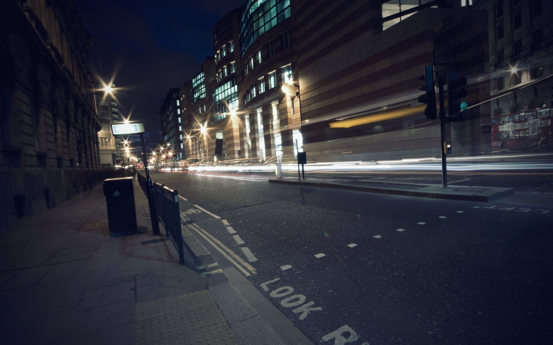 1920x1200 streets London urban cities /  Wallpaper