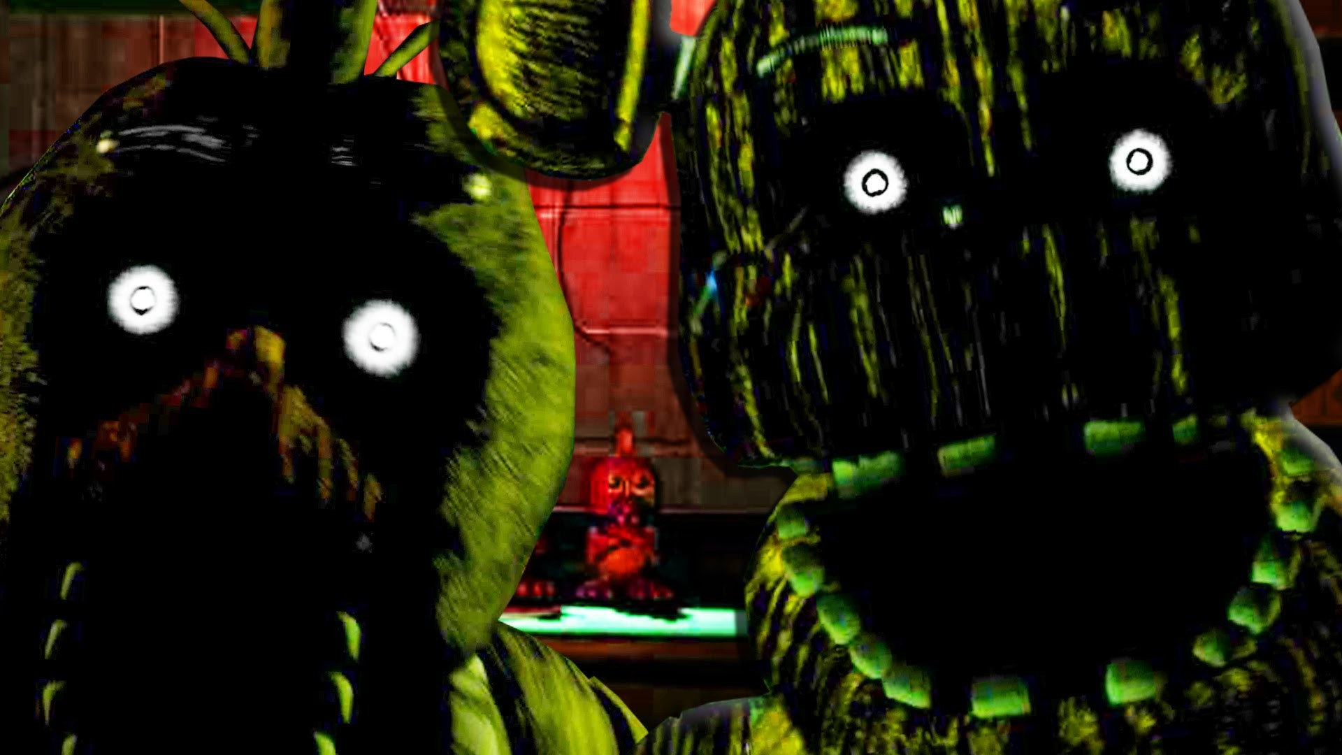 1920x1080 FIVE NIGHTS AT FREDDY'S 3 - FREDDY FAZBEAR AND CHICA JUMPSCARE! Night 2, 3  Gameplay (FNAF 3) - YouTube