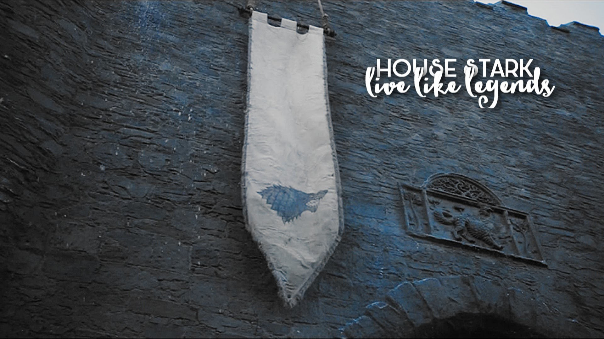 1920x1080 house stark || live like legends
